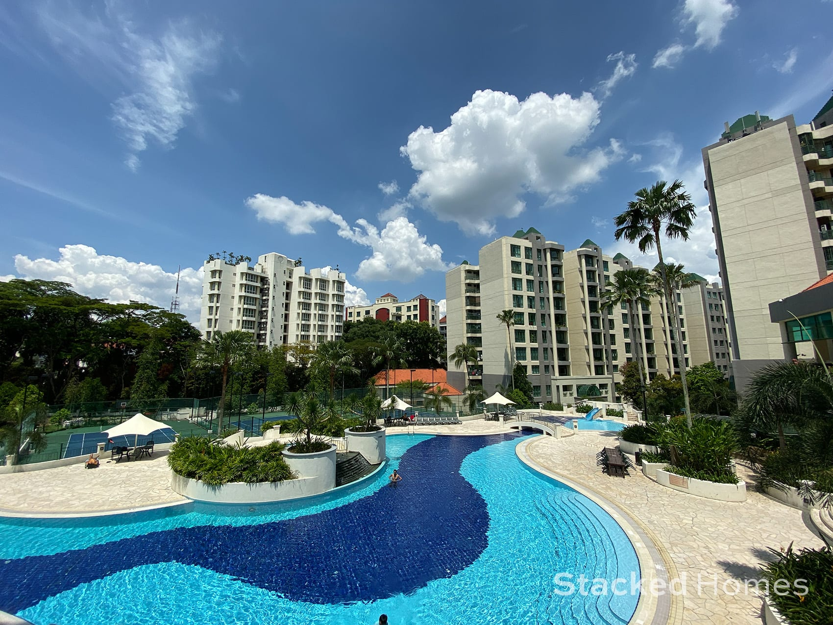 Signature park second Swimming pool