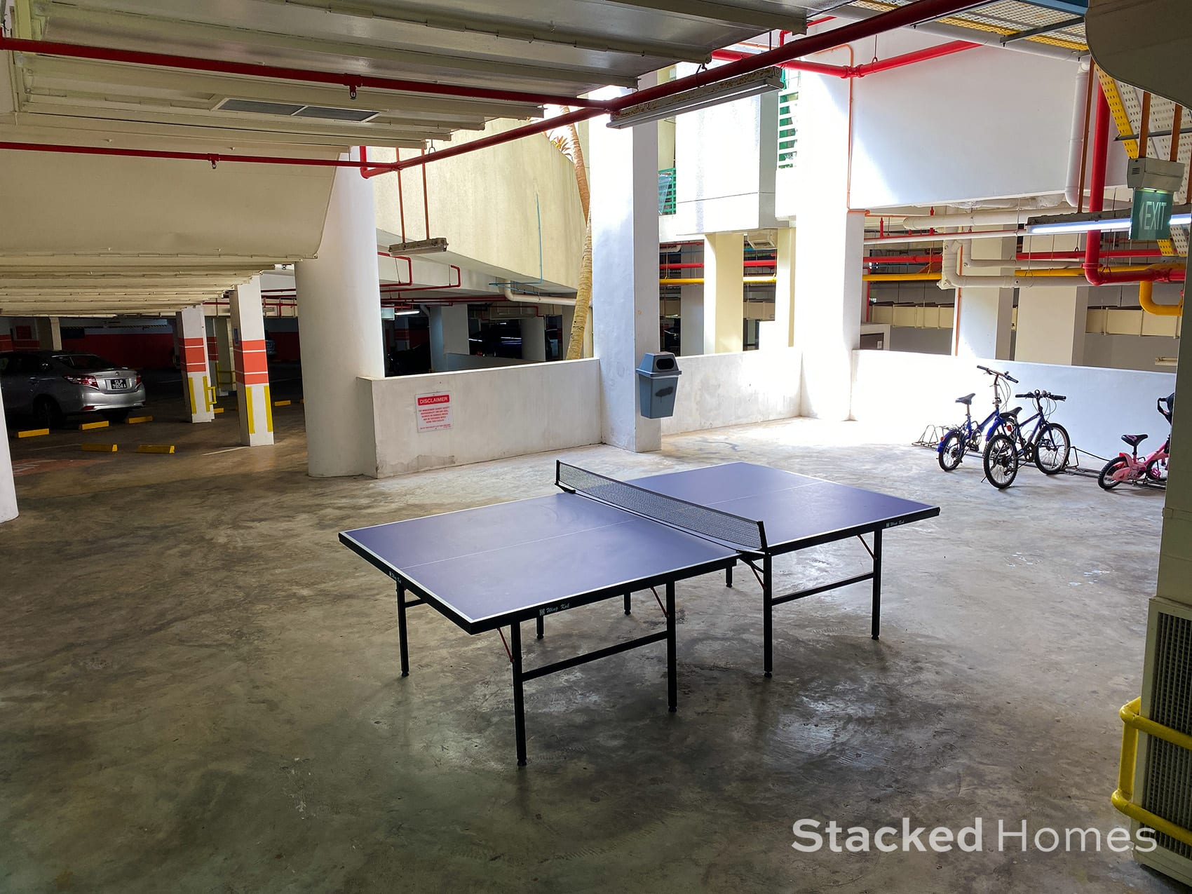 Signature park table tennis