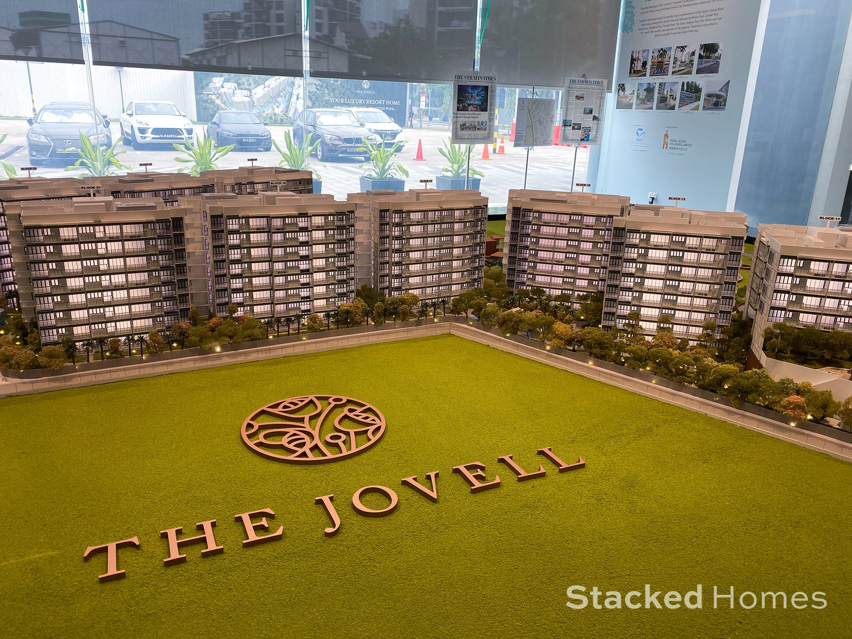 the jovell showflat model