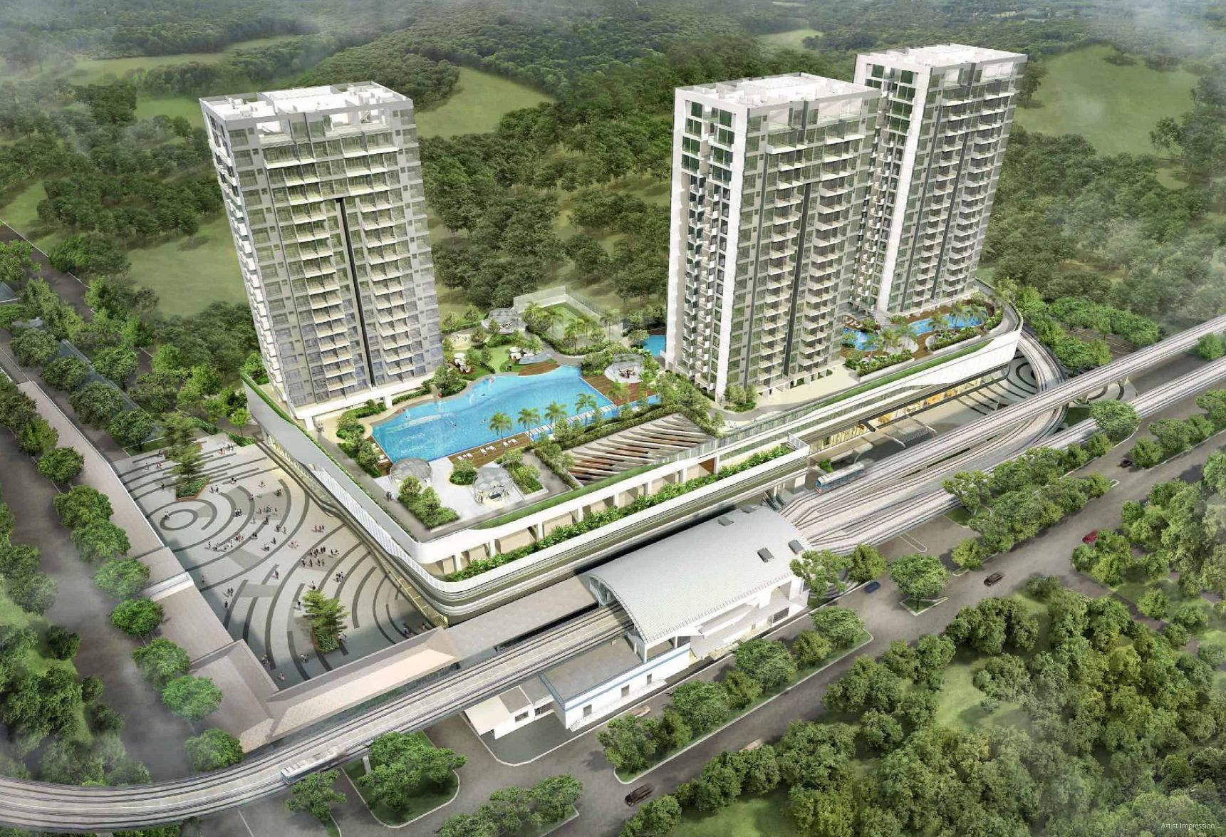 hillion residences integrated developments