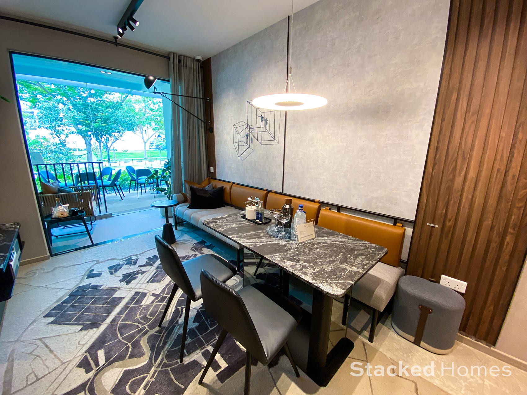 sengkang grand residences 1 bedroom study dining