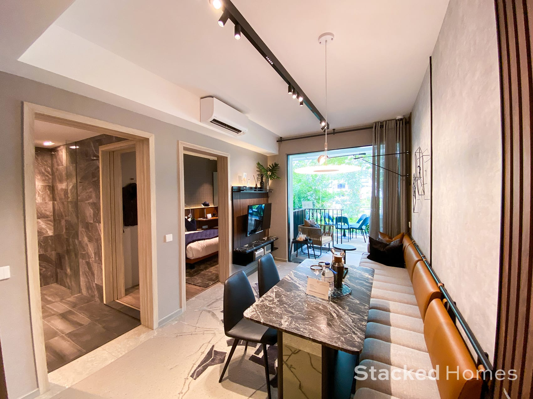 sengkang grand residences 1 bedroom study living dining