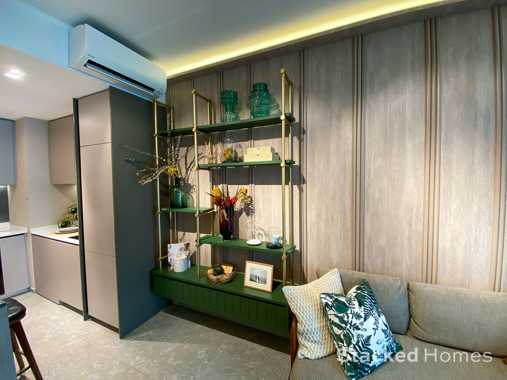 sengkang grand residences 2 bedroom detailing