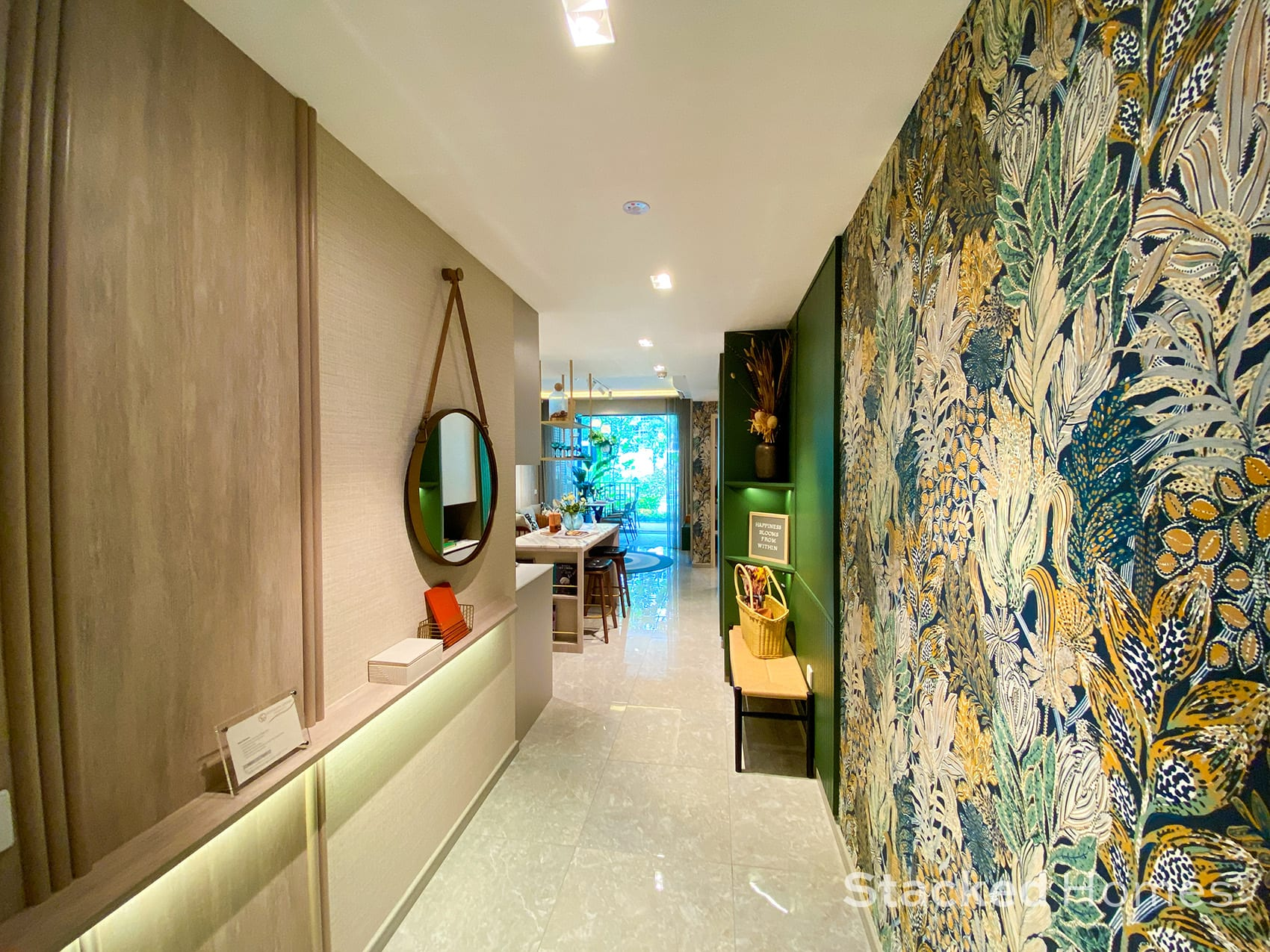 sengkang grand residences 2 bedroom entranceway