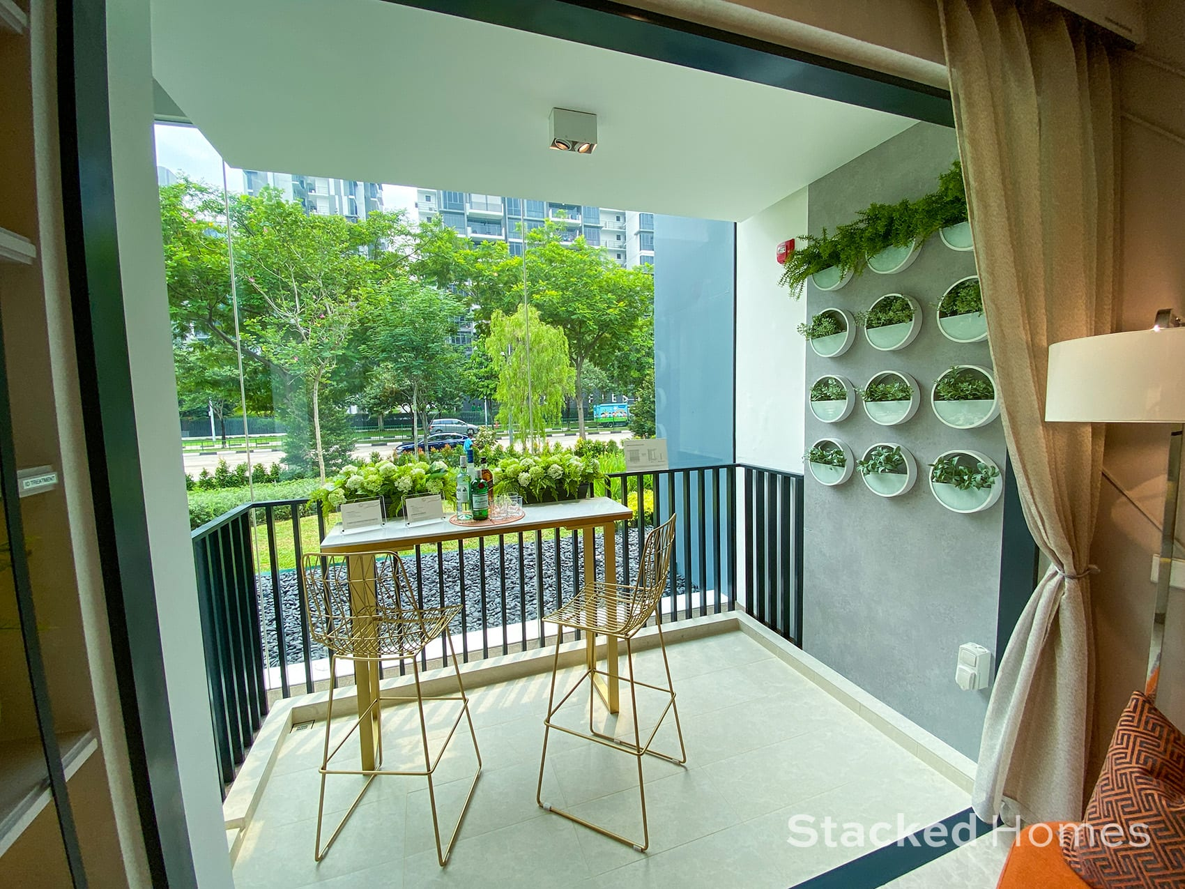 Sengkang Grand Residences 3 Bedroom Premium balcony