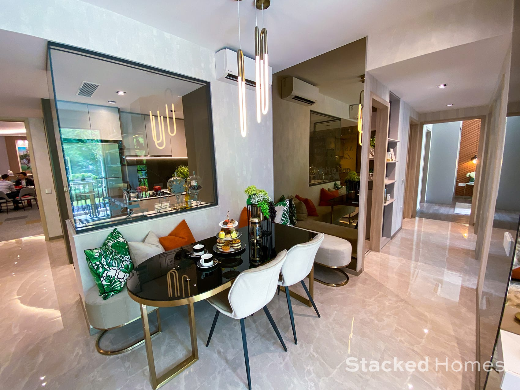 Sengkang Grand Residences 3 Bedroom Premium dining