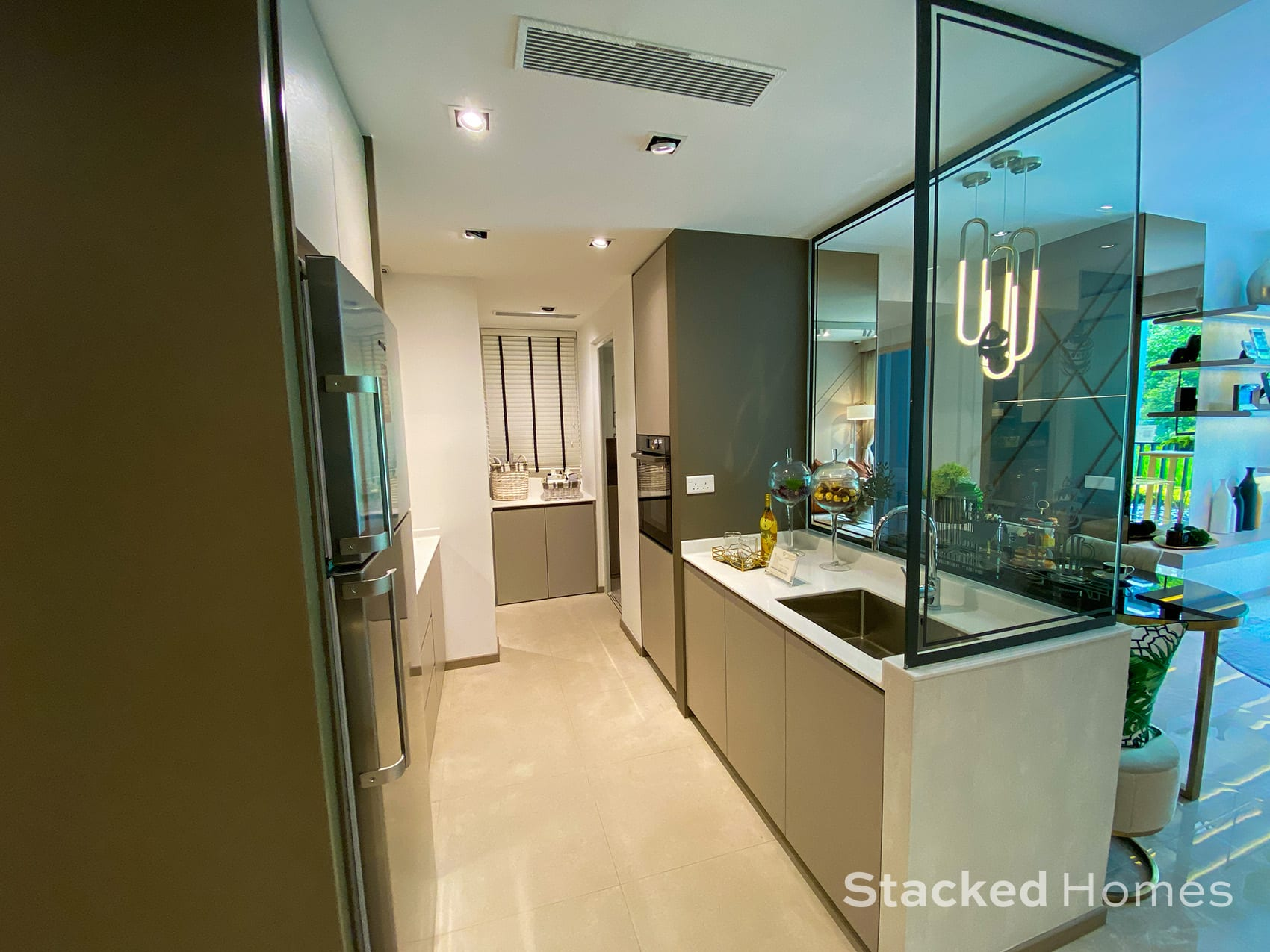 Sengkang Grand Residences 3 Bedroom Premium kitchen