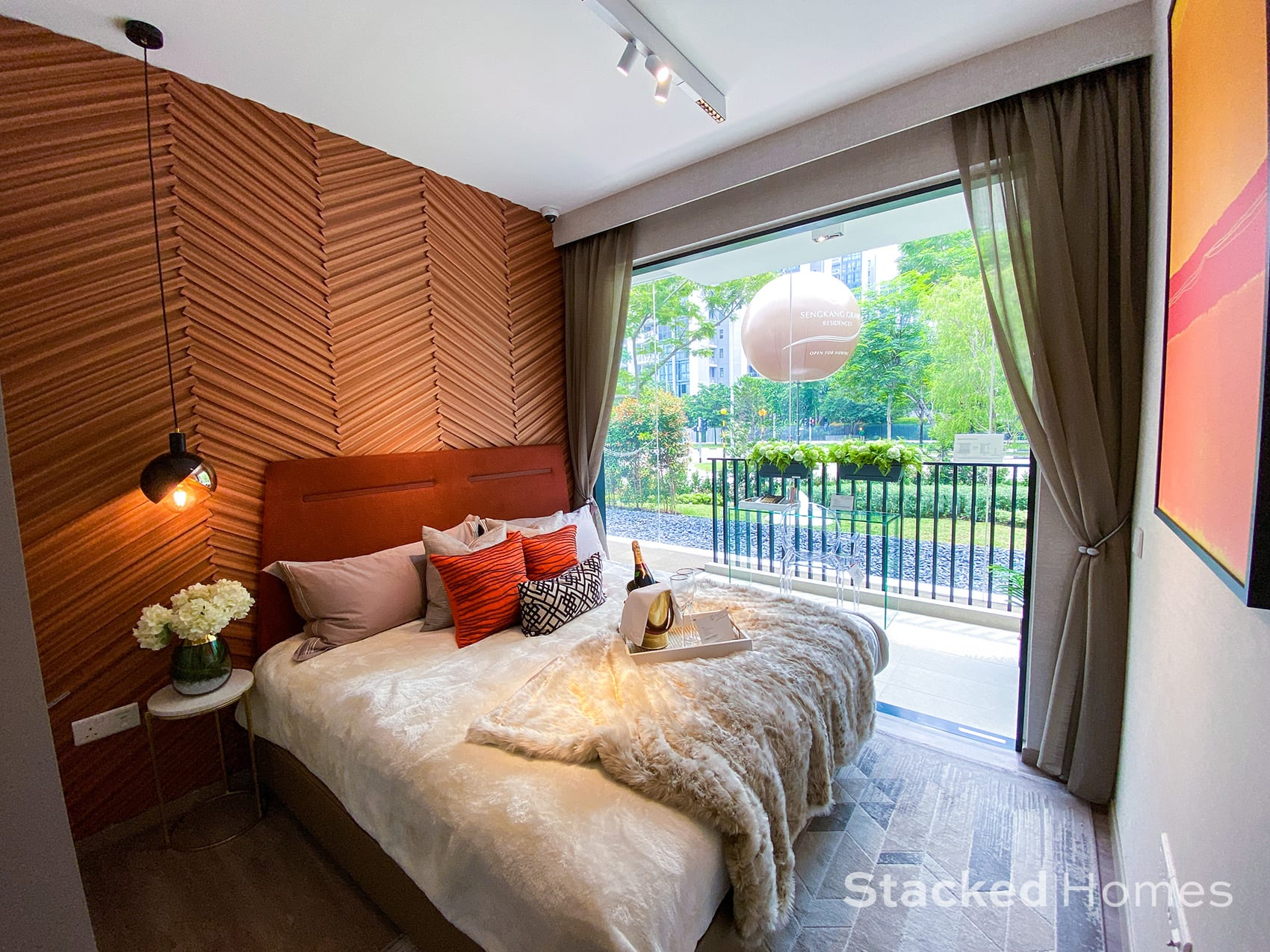 Sengkang Grand Residences 3 Bedroom Premium master bedroom