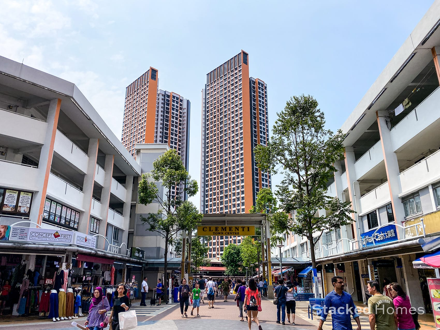 Clementi town centre