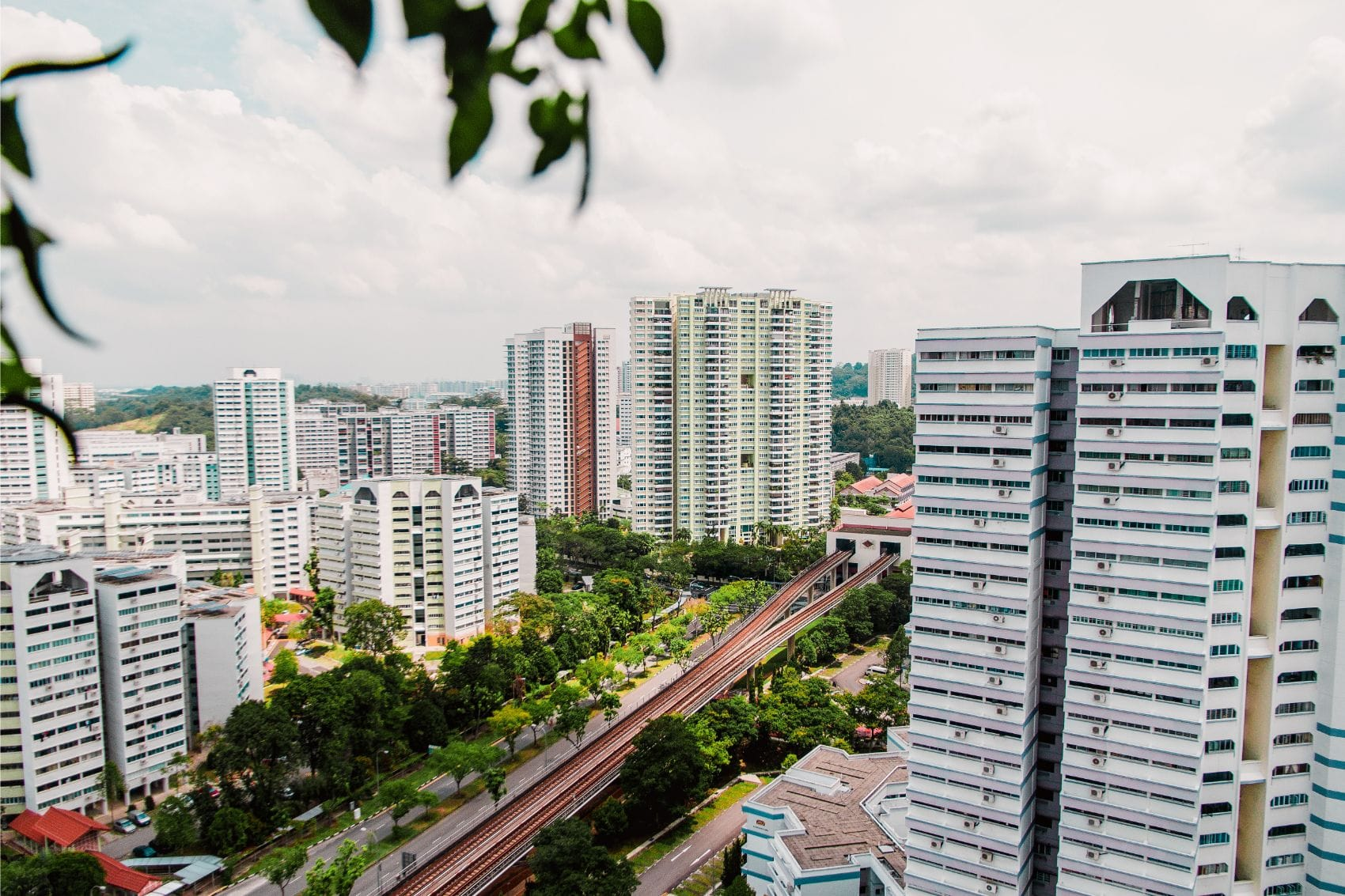 home near MRT station