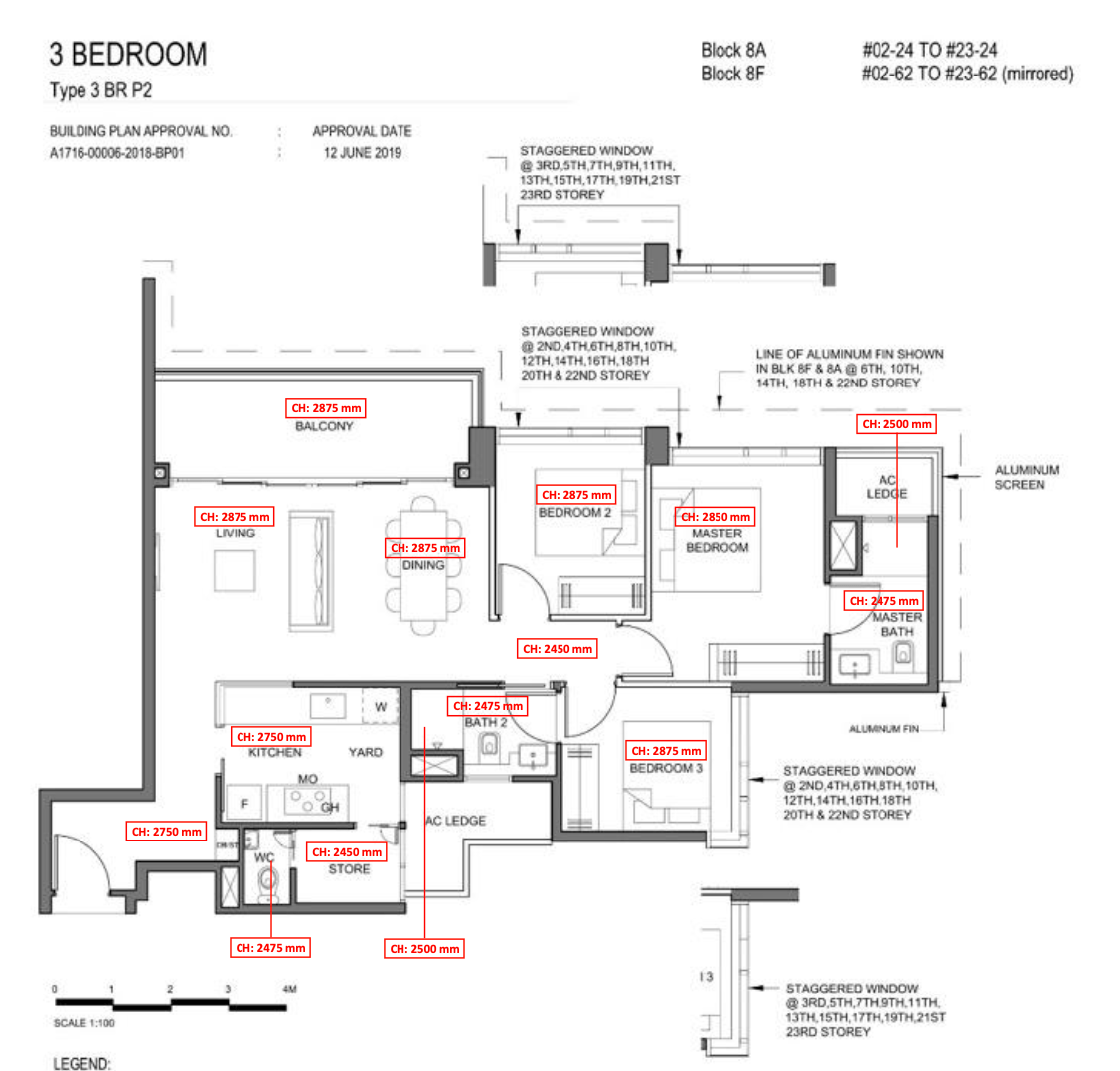 parc clematis 3 bedroom elegance floor plan