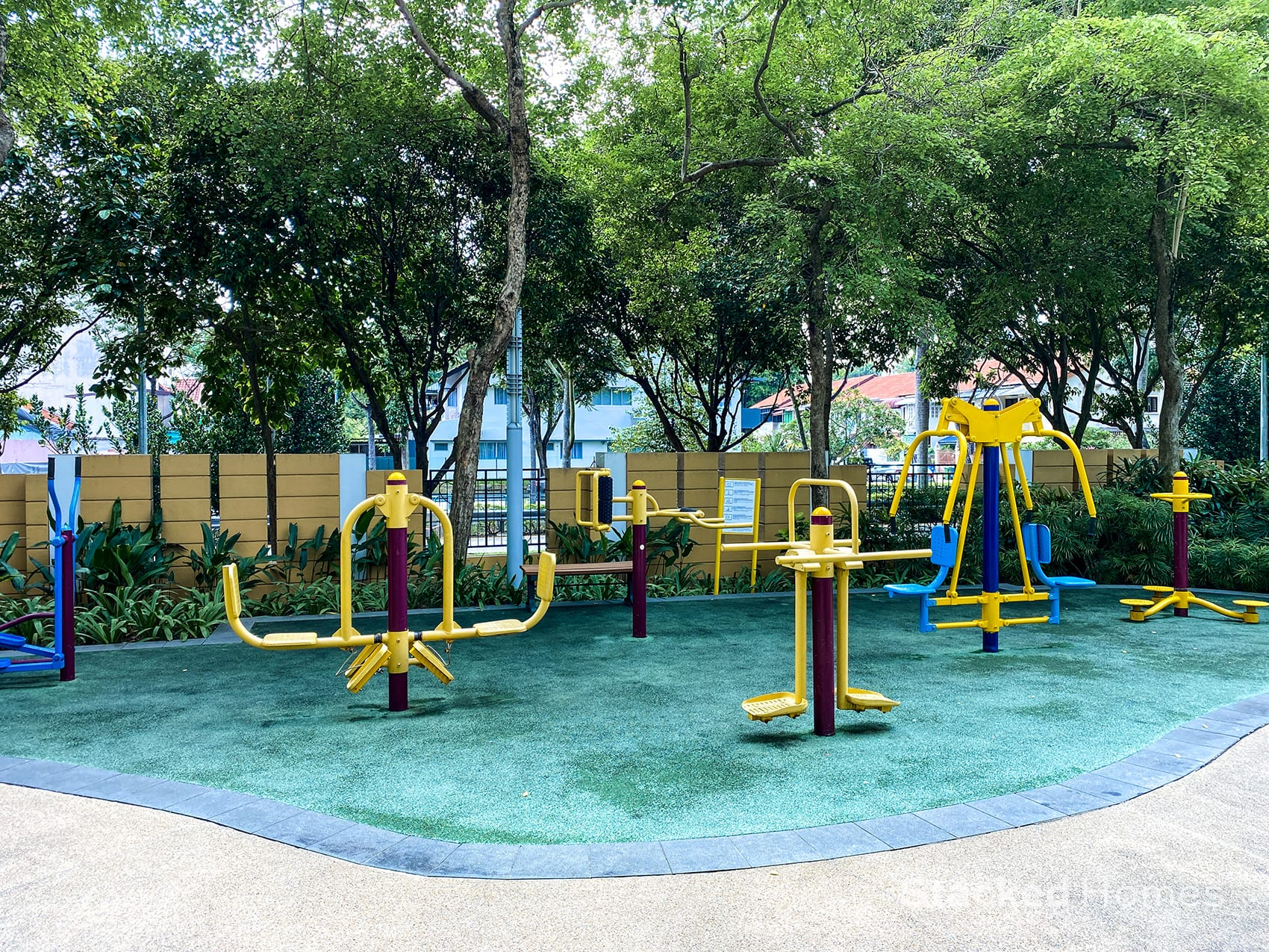 park infinia wee name fitness station