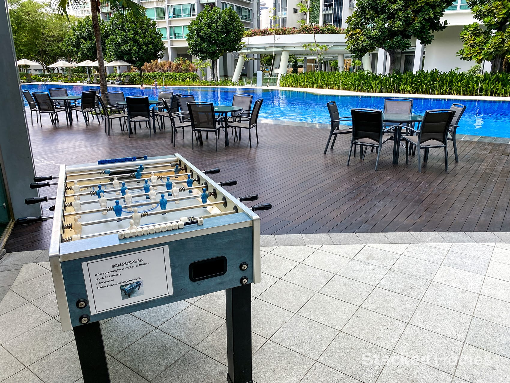 park infinia wee nam foosball table