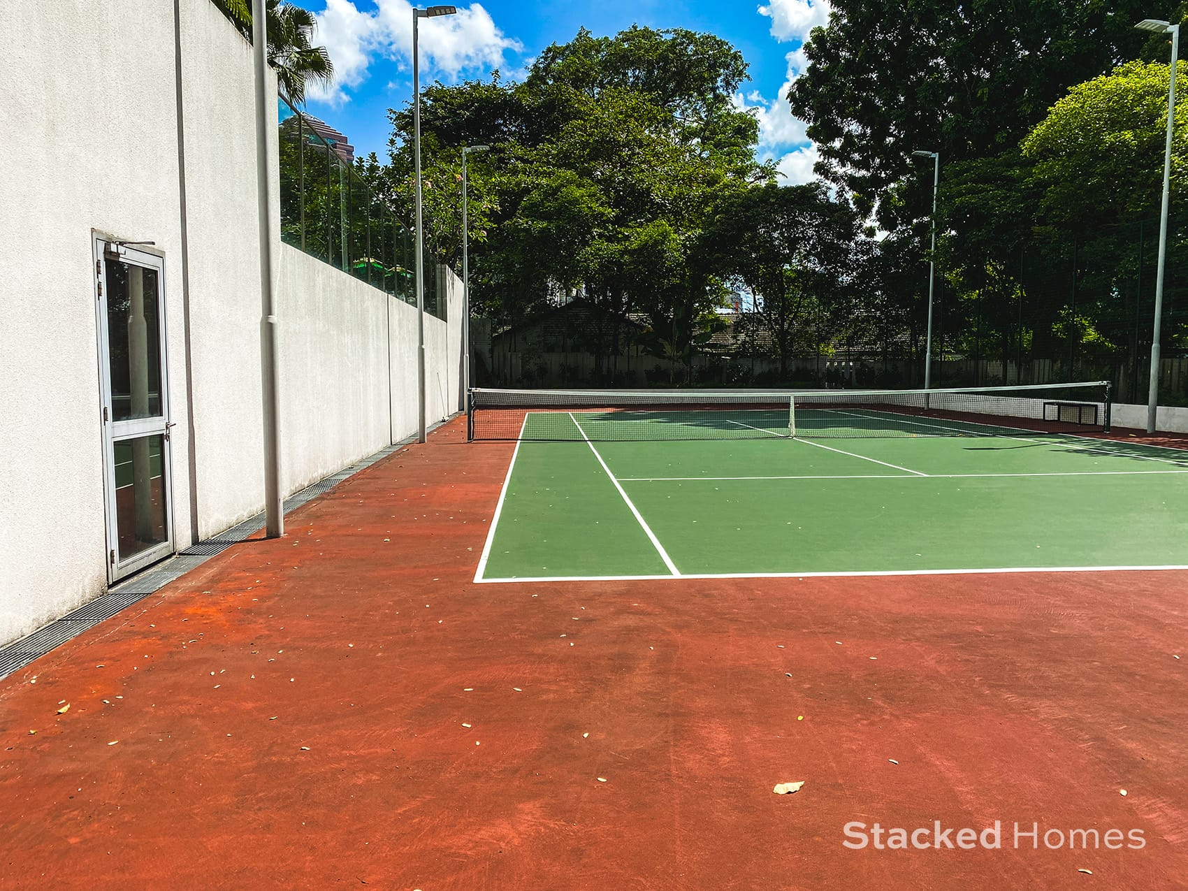 paterson suites tennis court