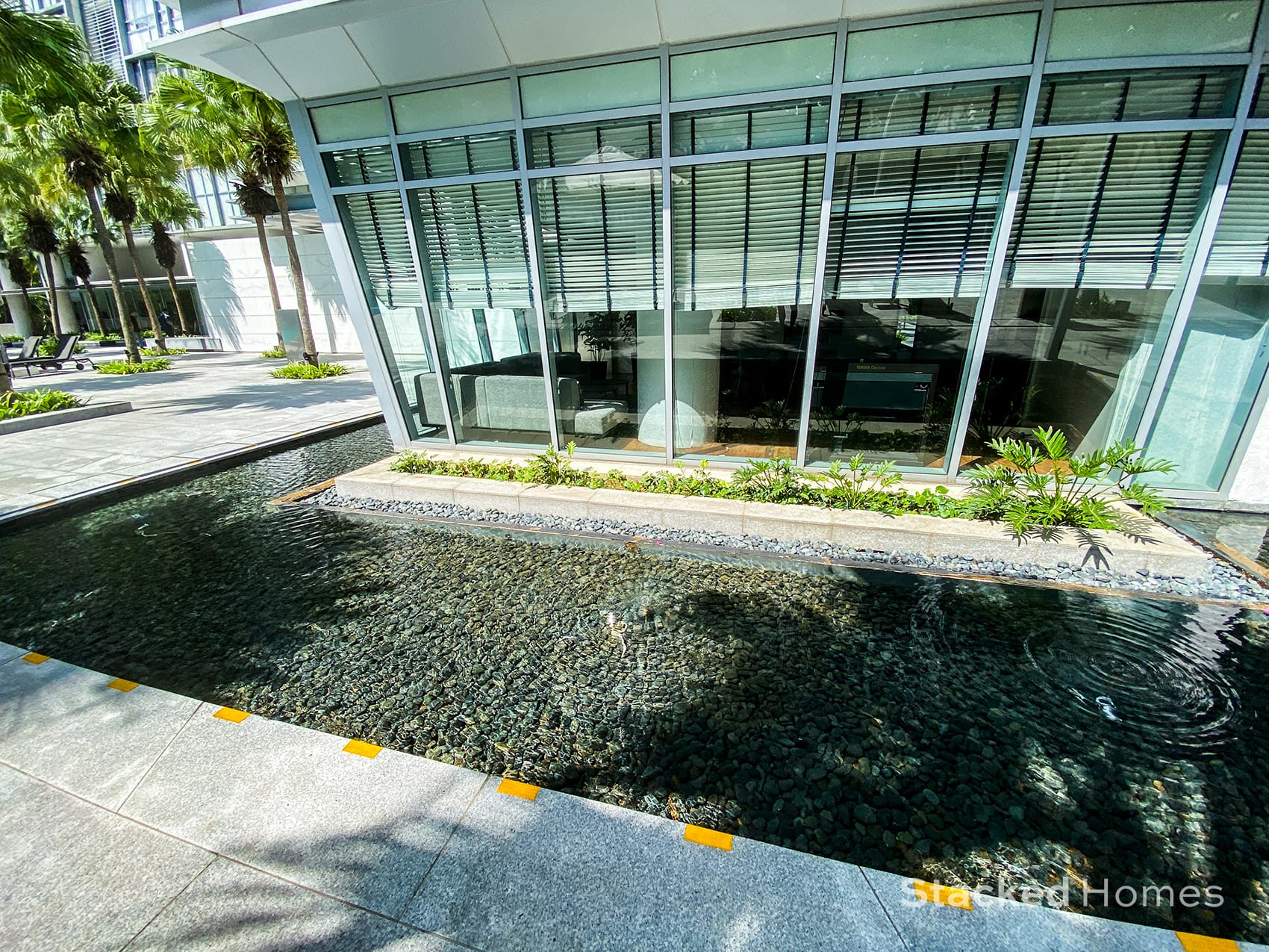 paterson suites water feature