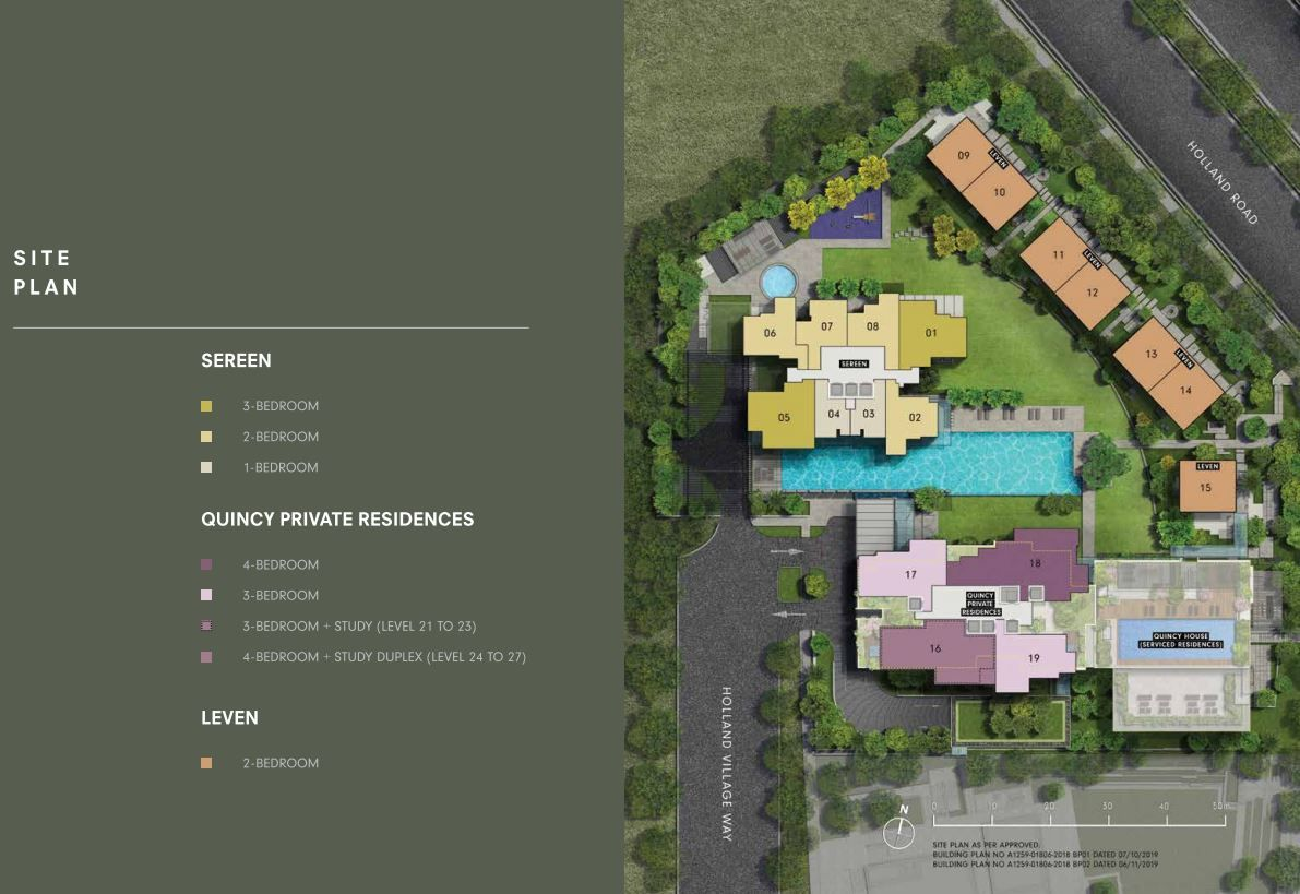 one holland village residences site plan