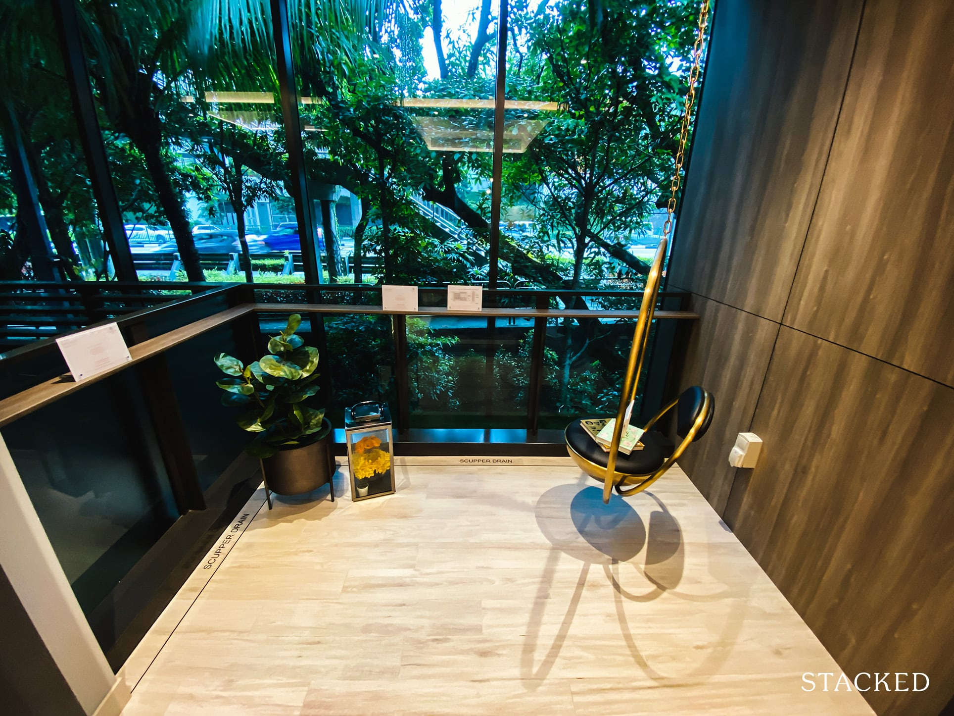 leedon green 1 bedrooms study balcony