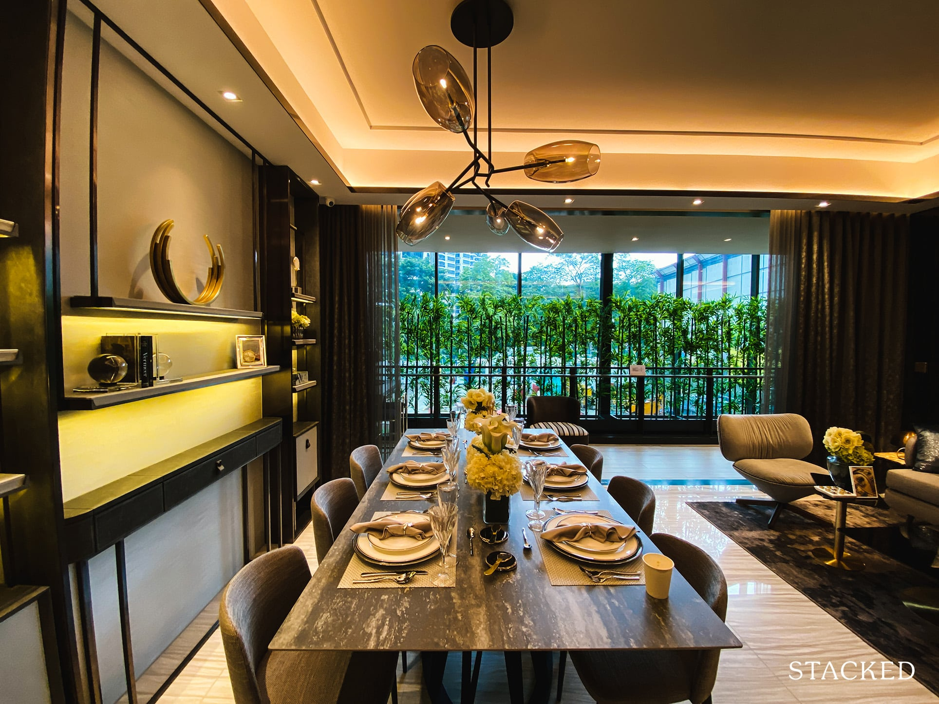 leedon green 3 bedroom exclusive dining room