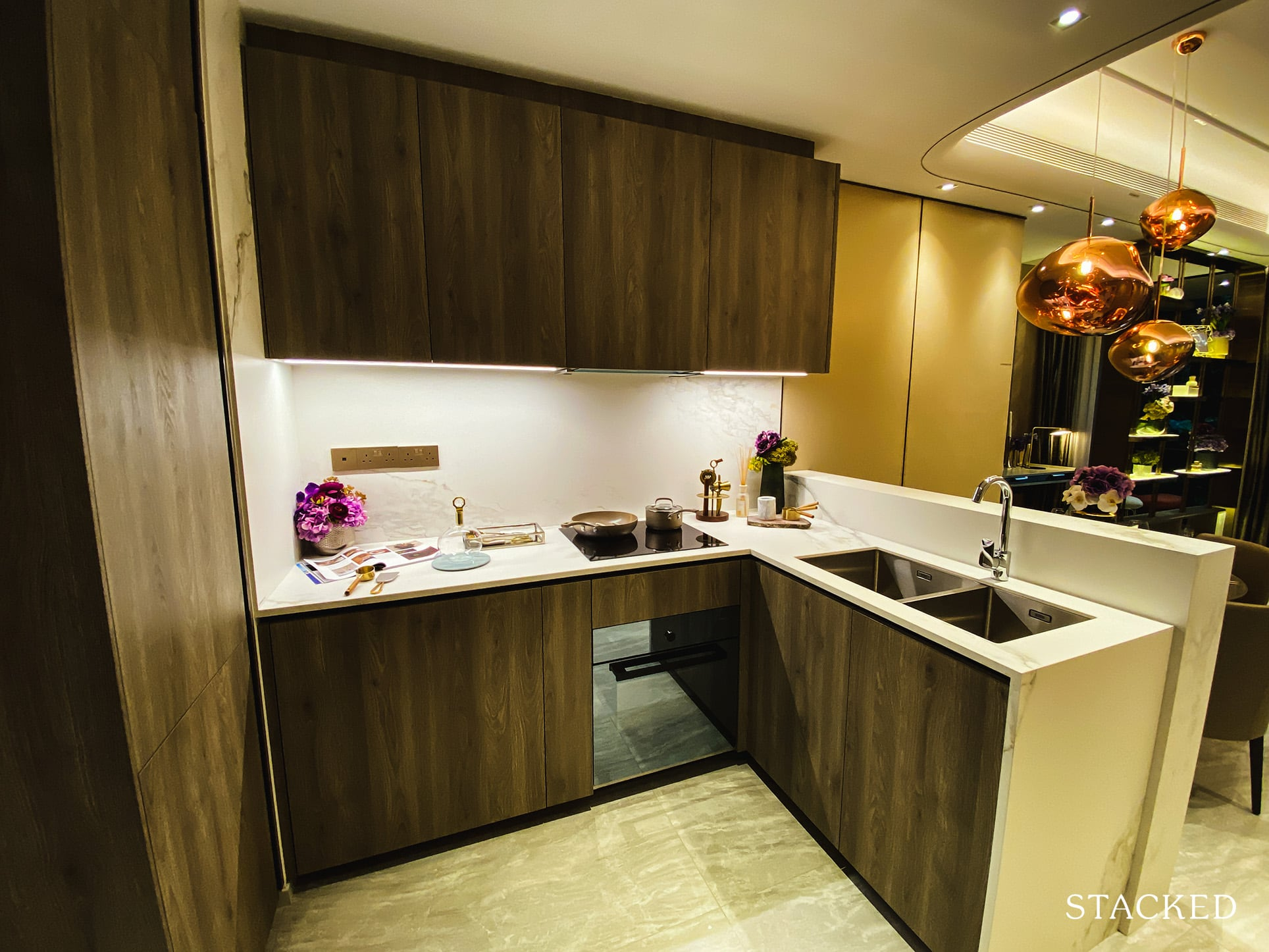 leedon green 2 bedroom kitchen