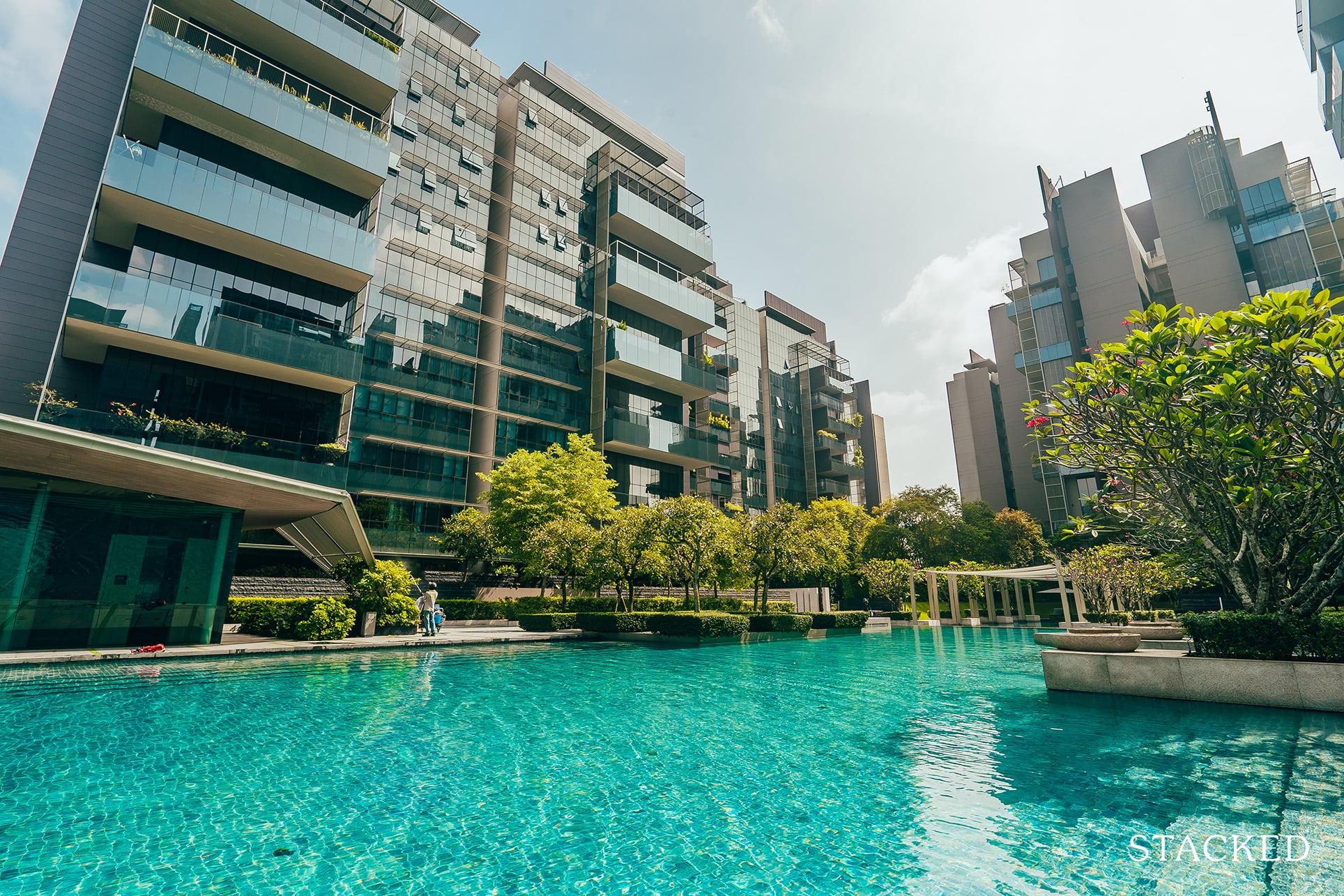 Leedon residence Swimming pool