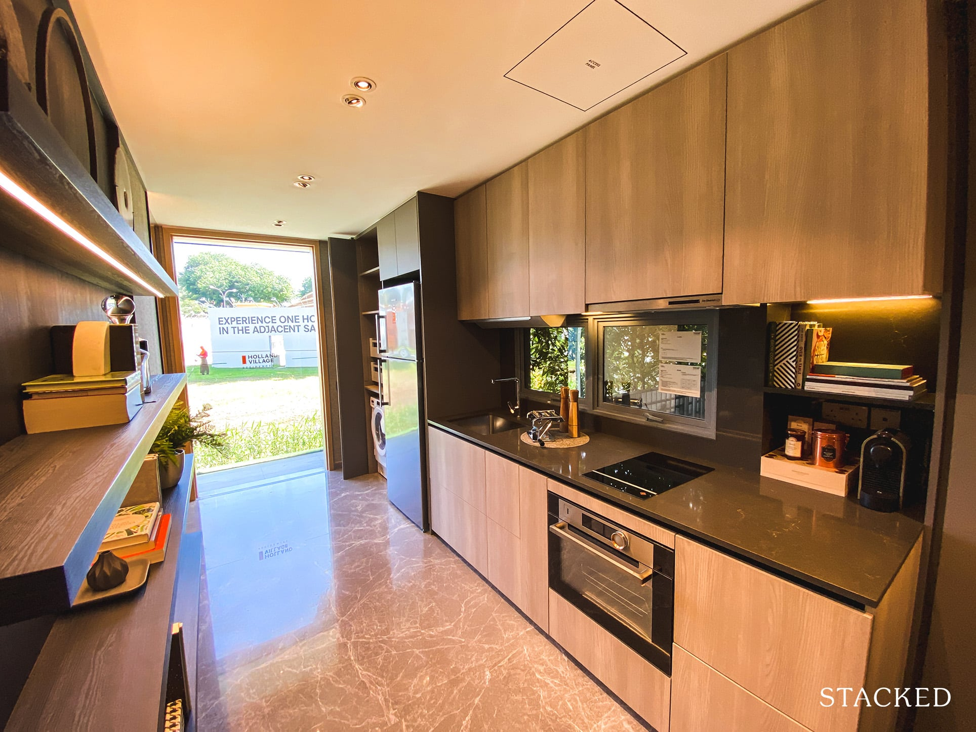 one holland village residences 2 bedroom kitchen
