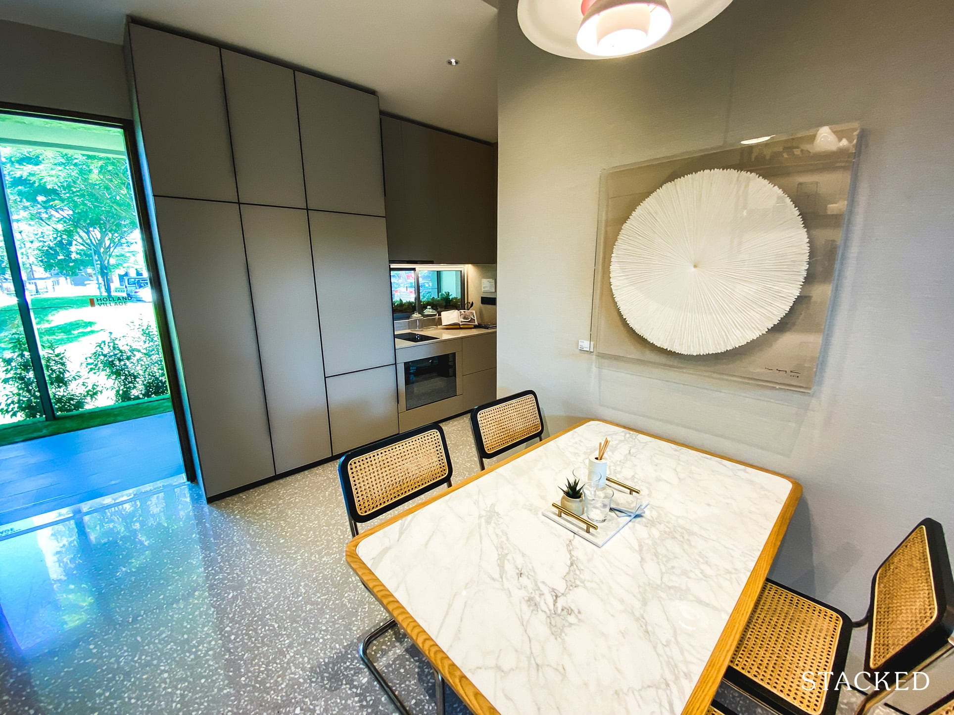 one holland village residences 2 bedroom leven dining