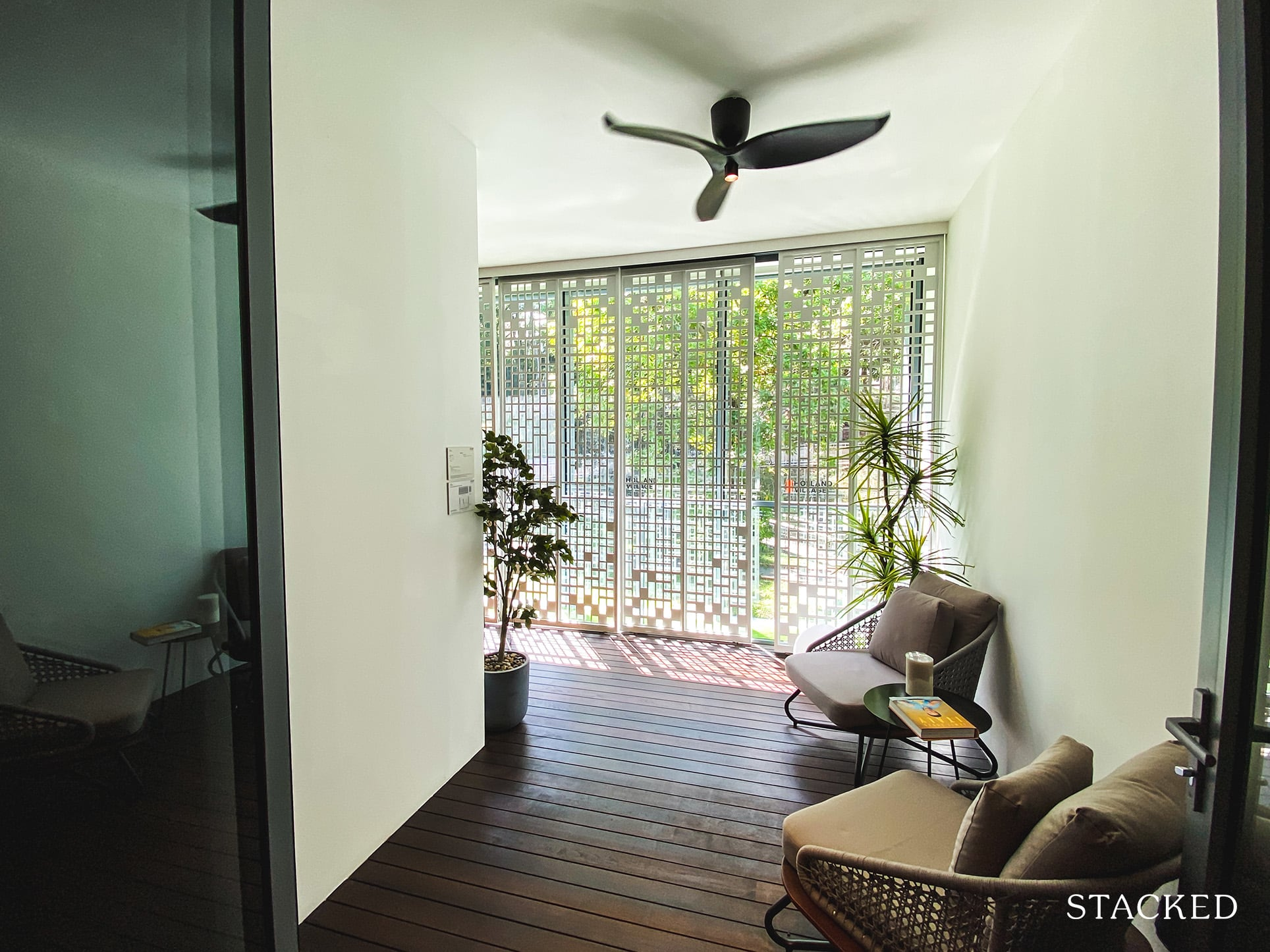 one holland village residences 3 bedroom balcony