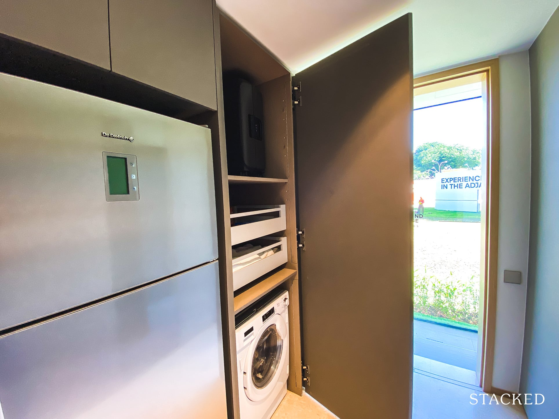 one holland village residences 1 bedroom kitchen storage