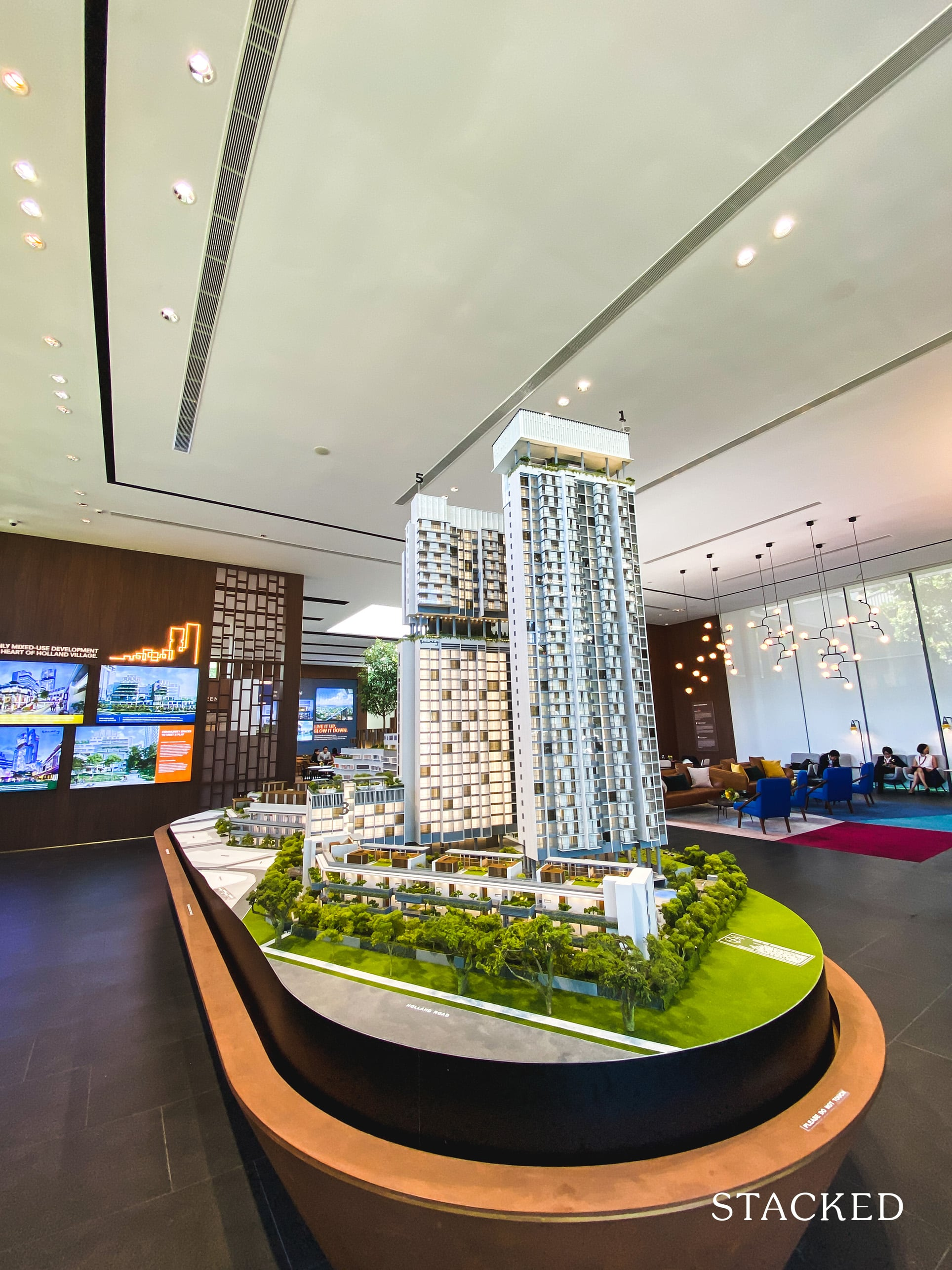 one holland village residences showflat model