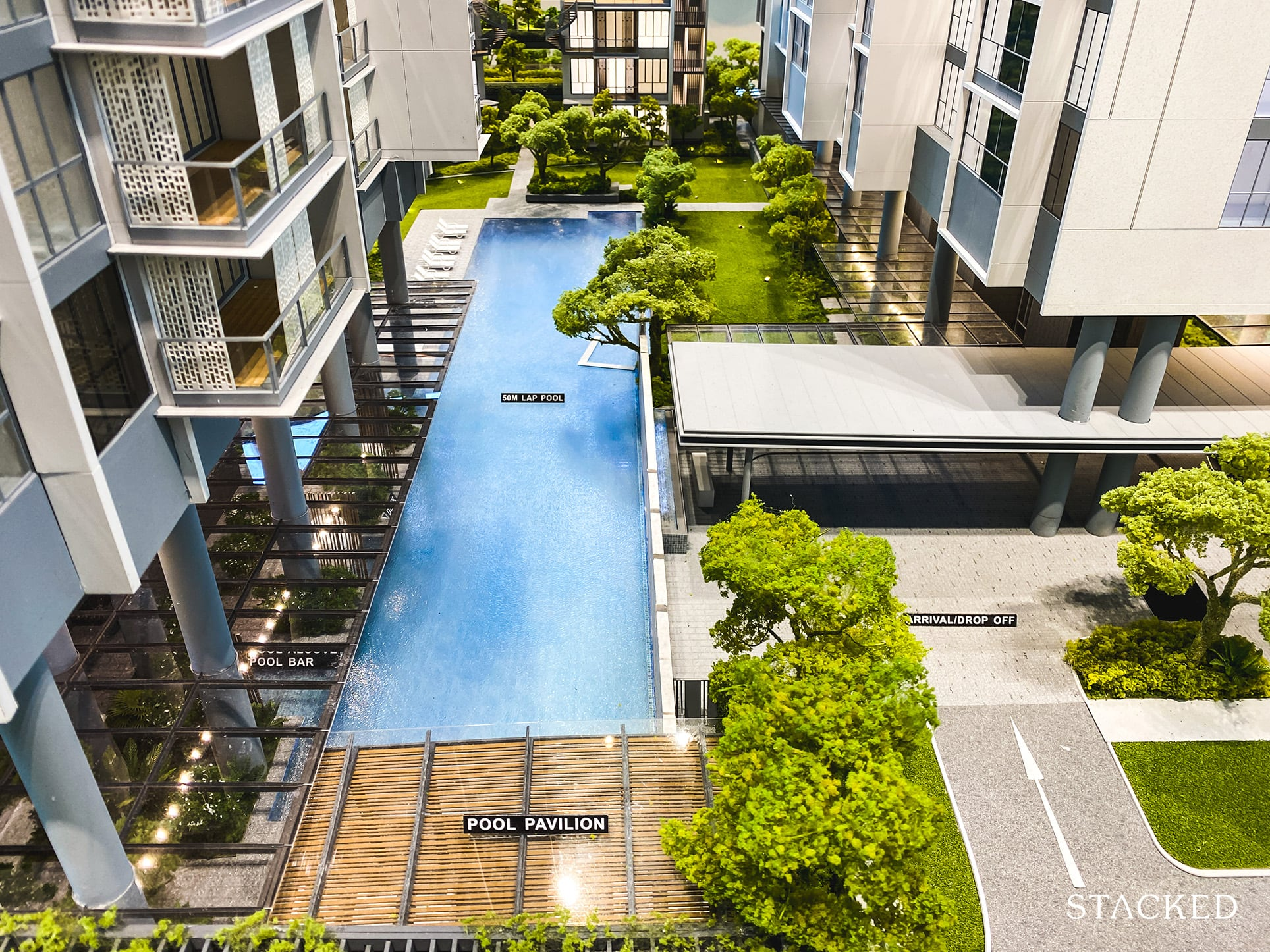 one holland village residences swimming pool