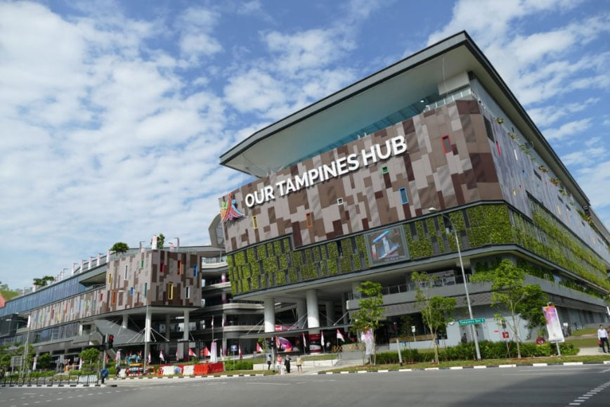 Tampines Hub district 18