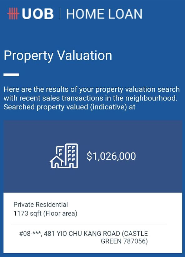 castle green valuation