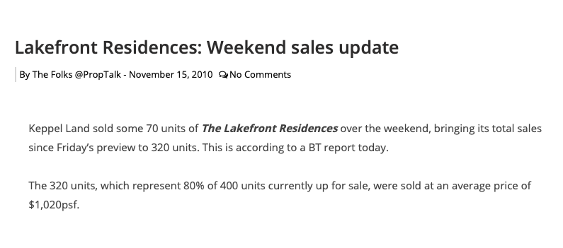 lakefront residences