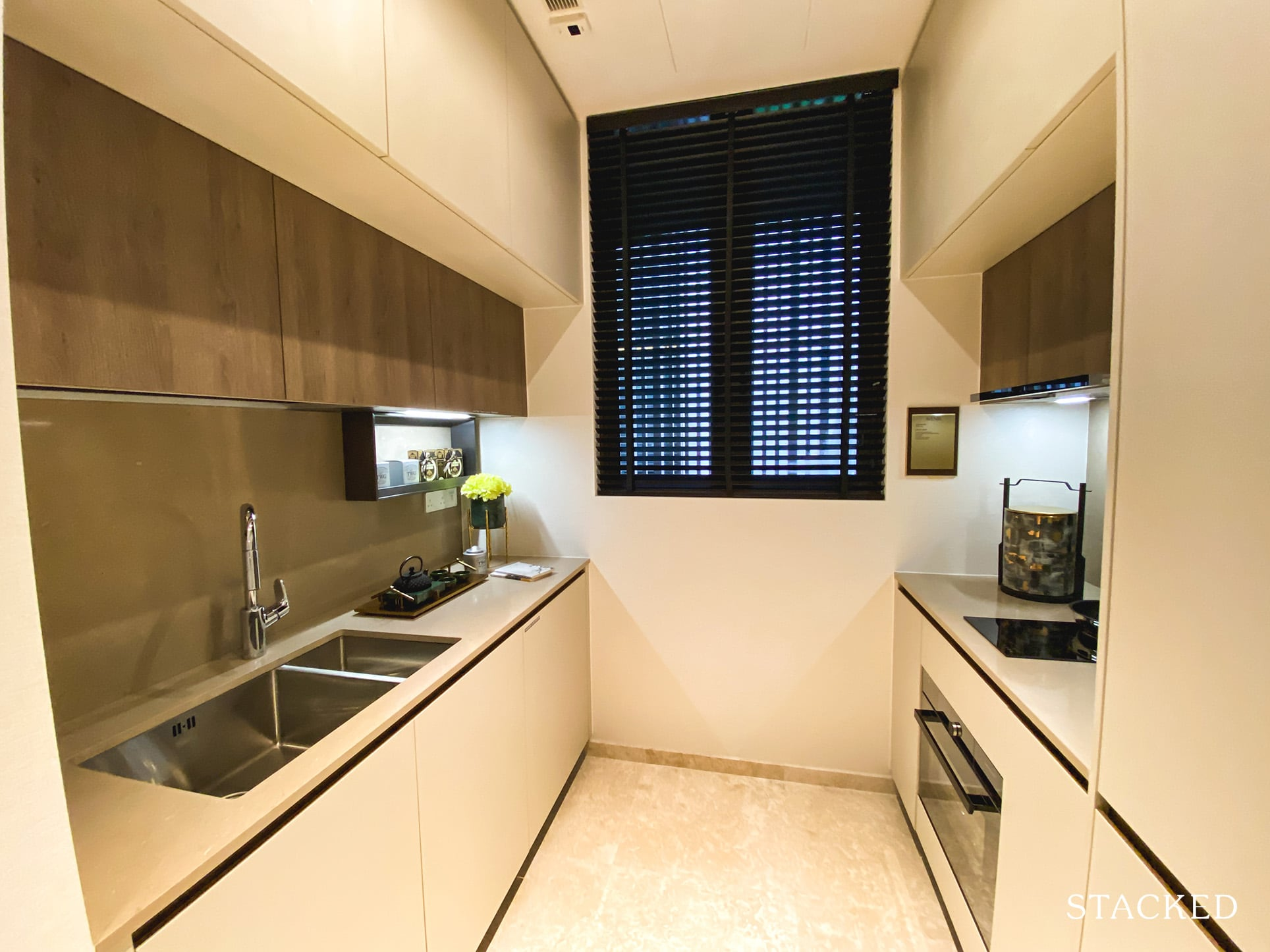 the avenir 2 bedroom kitchen