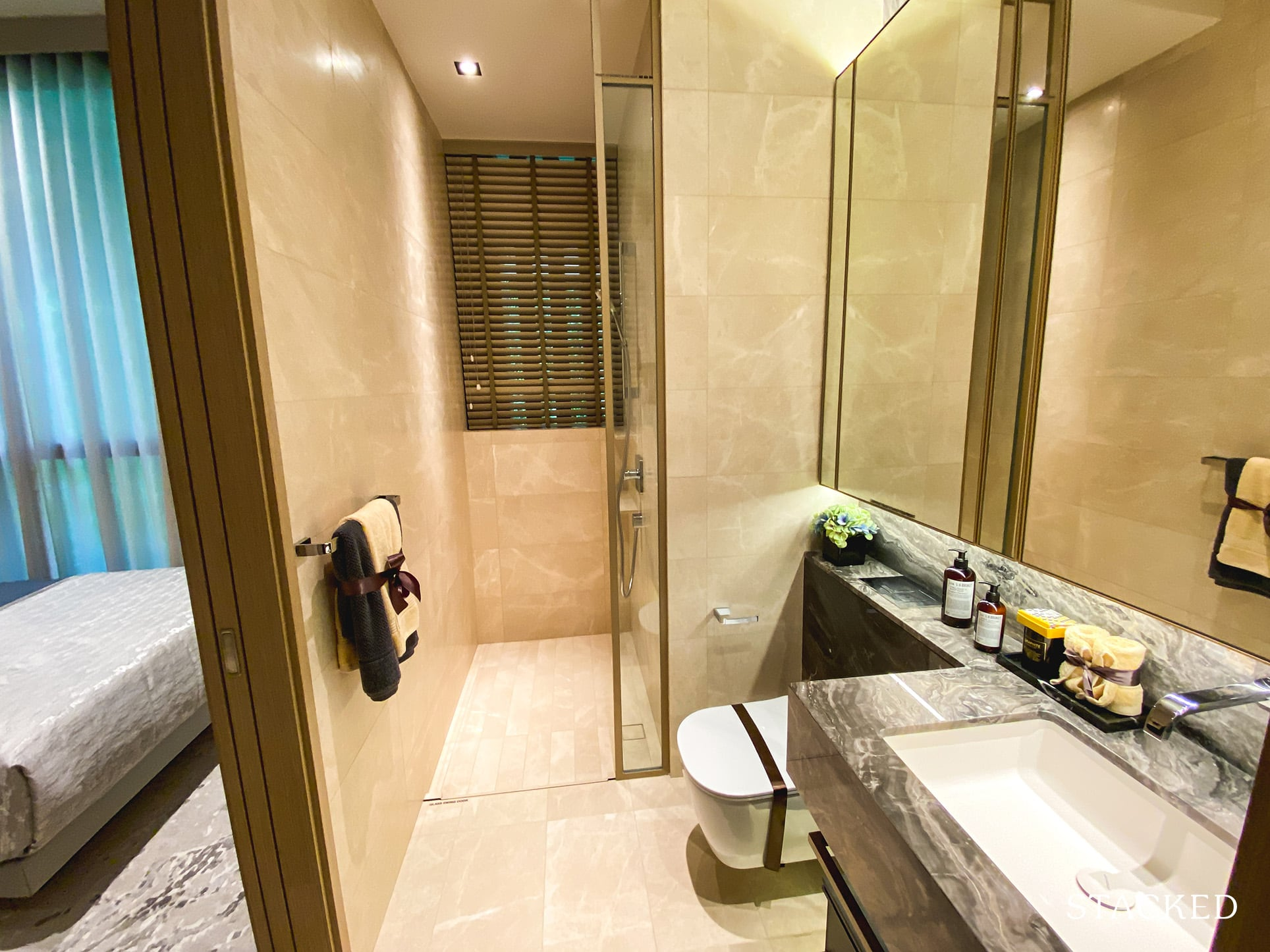 the avenir 3 bedroom common bathroom