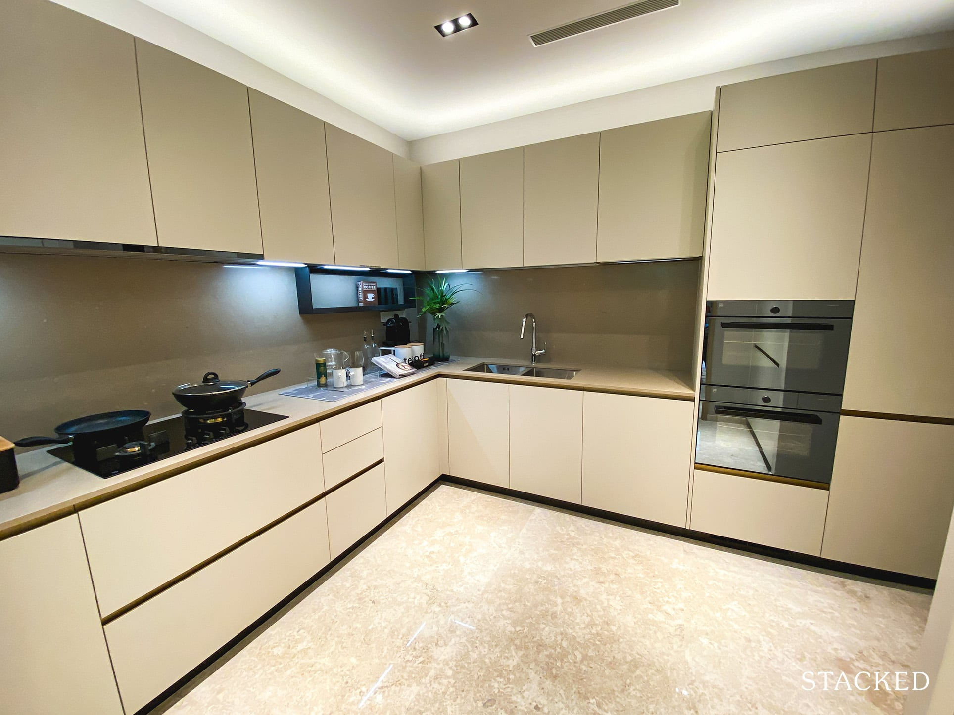 the avenir 3 bedroom kitchen