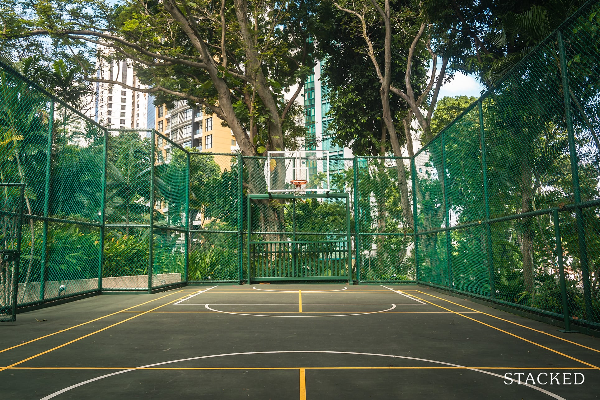 the claymore basketball court
