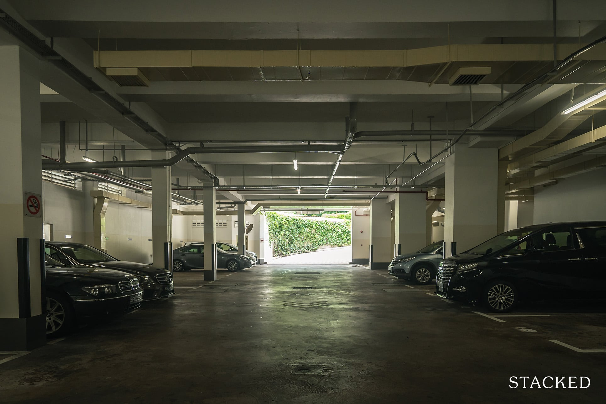 the claymore carpark