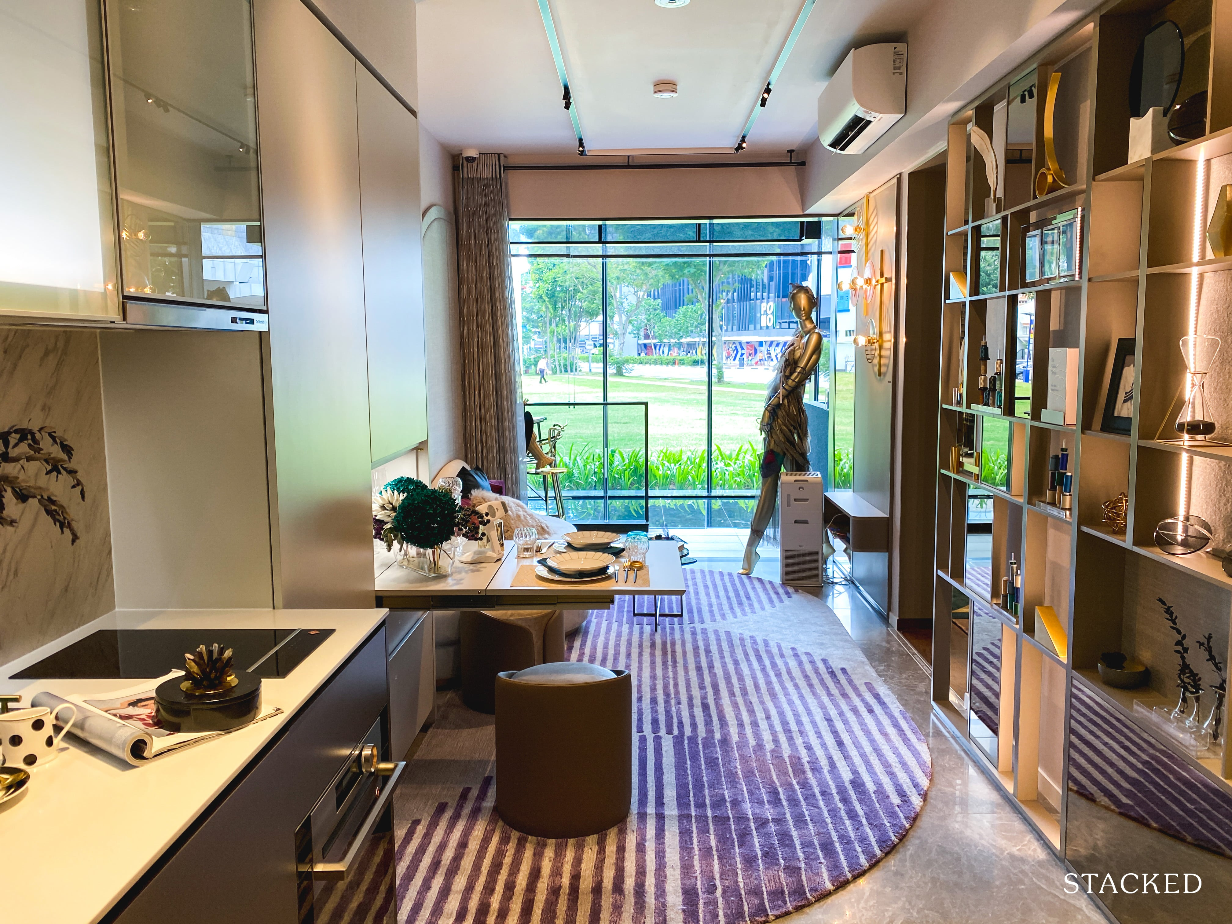 the m condo 1 bedroom study dining