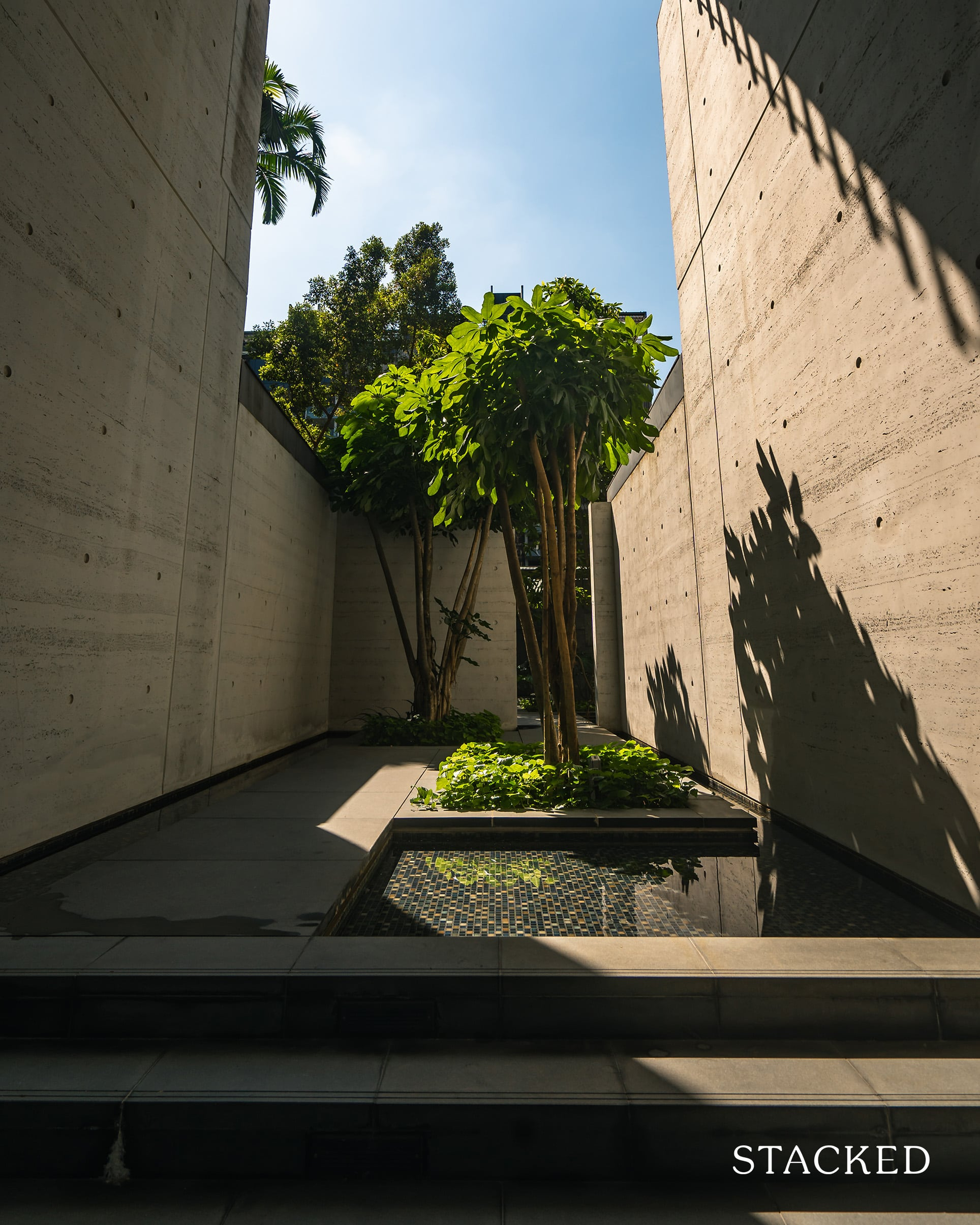 goodwood residence landscaping features