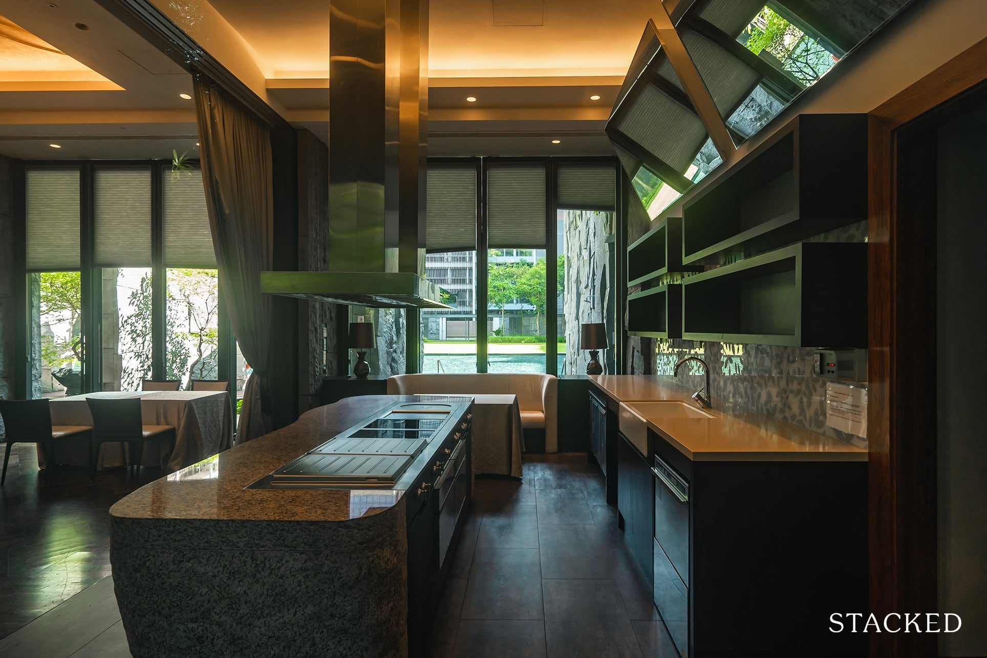 Goodwood residence private kitchen