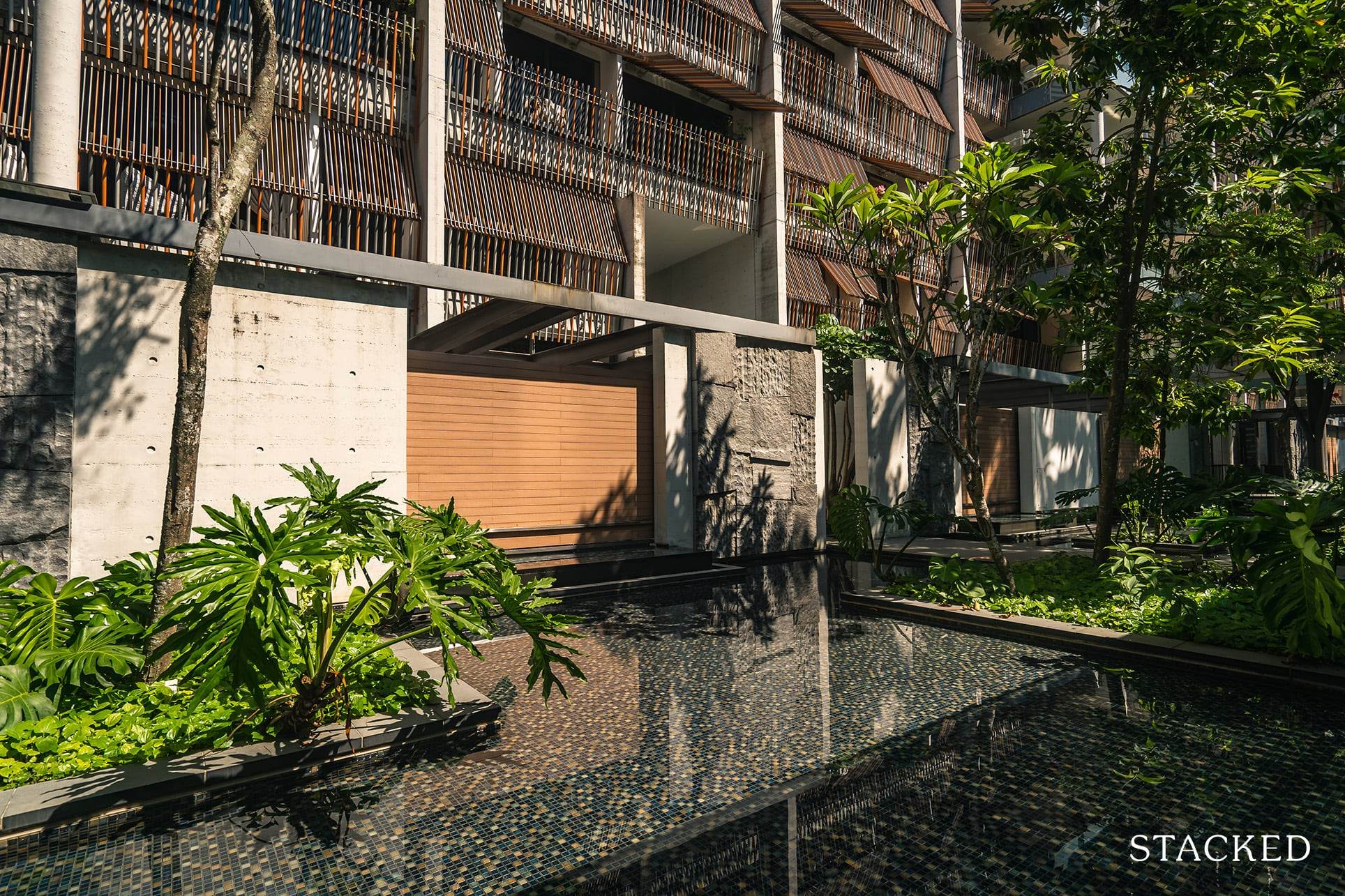 Goodwood Residence water features