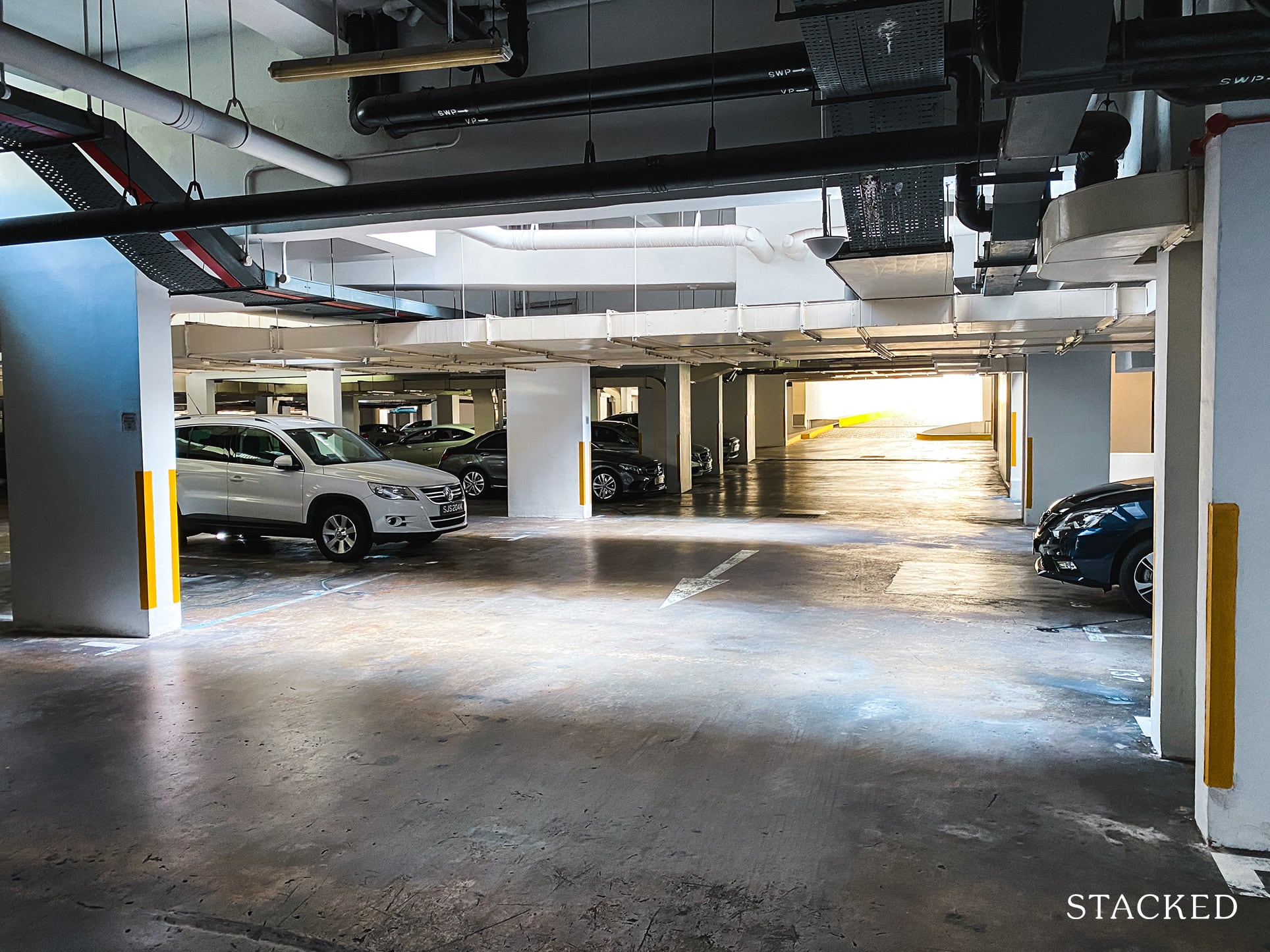 Tanglin regency basement carpark