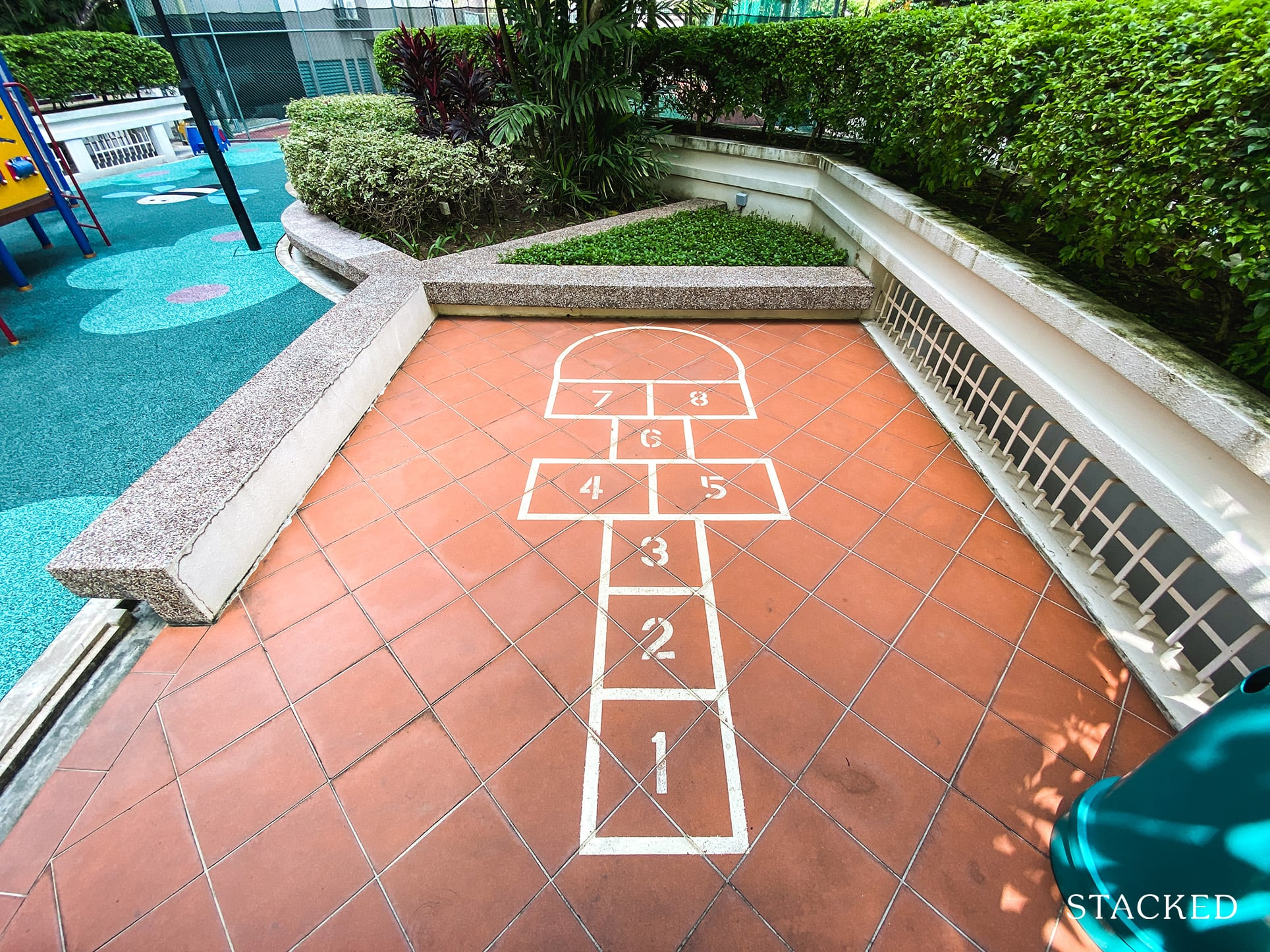 Tanglin regency kids hopscotch