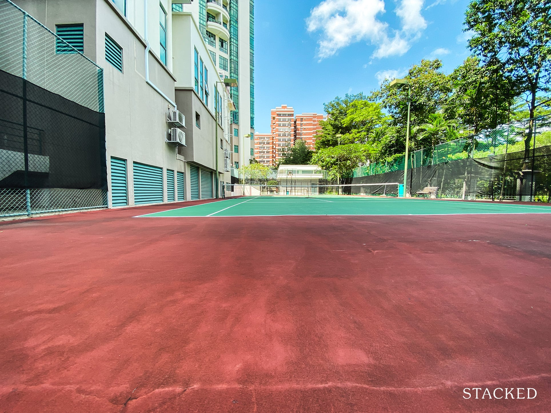 Tanglin regency tennis court