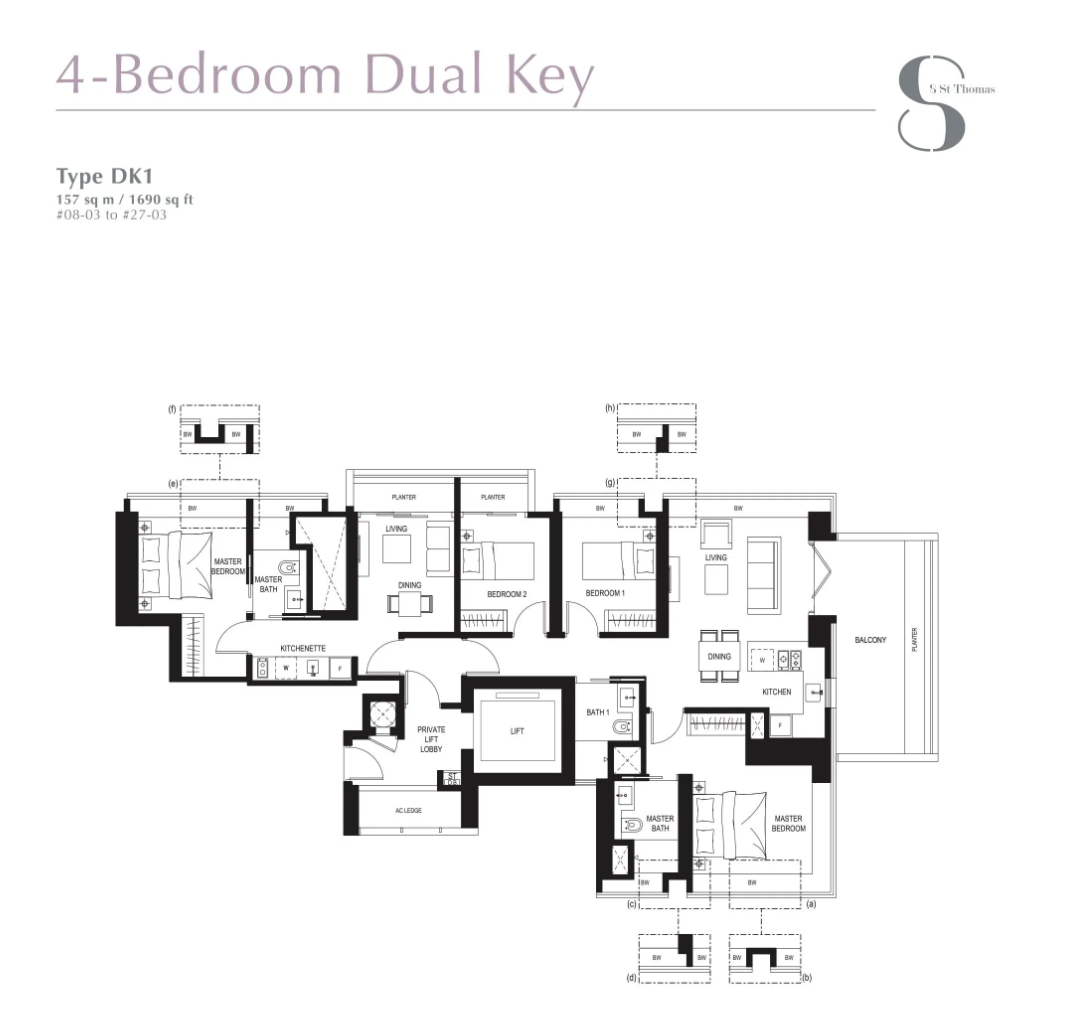 8 st Thomas floor plan