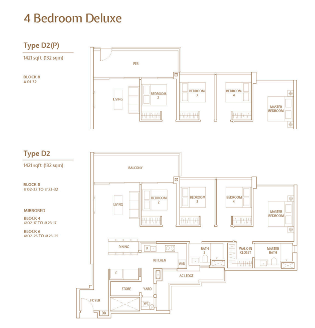 jadescape 4 bedroom deluxe floorplan