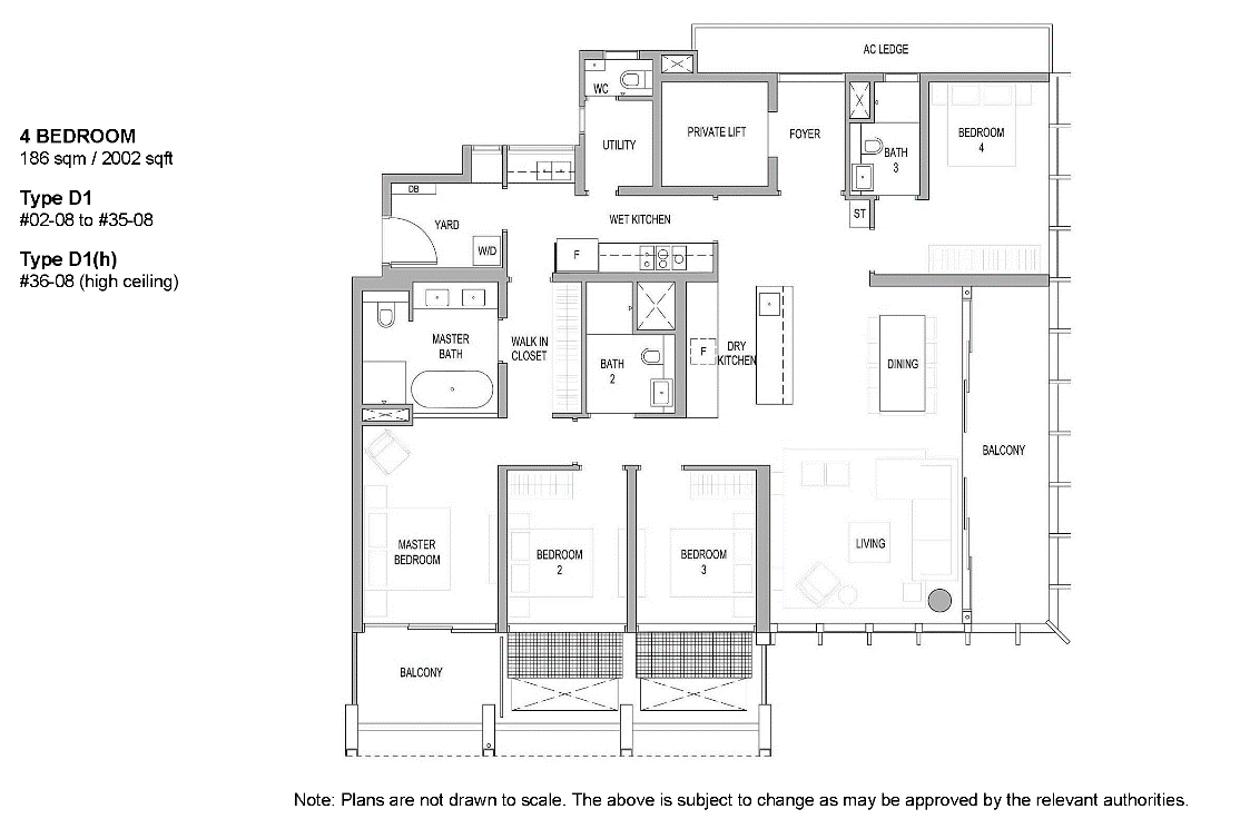 Riviere floor plan
