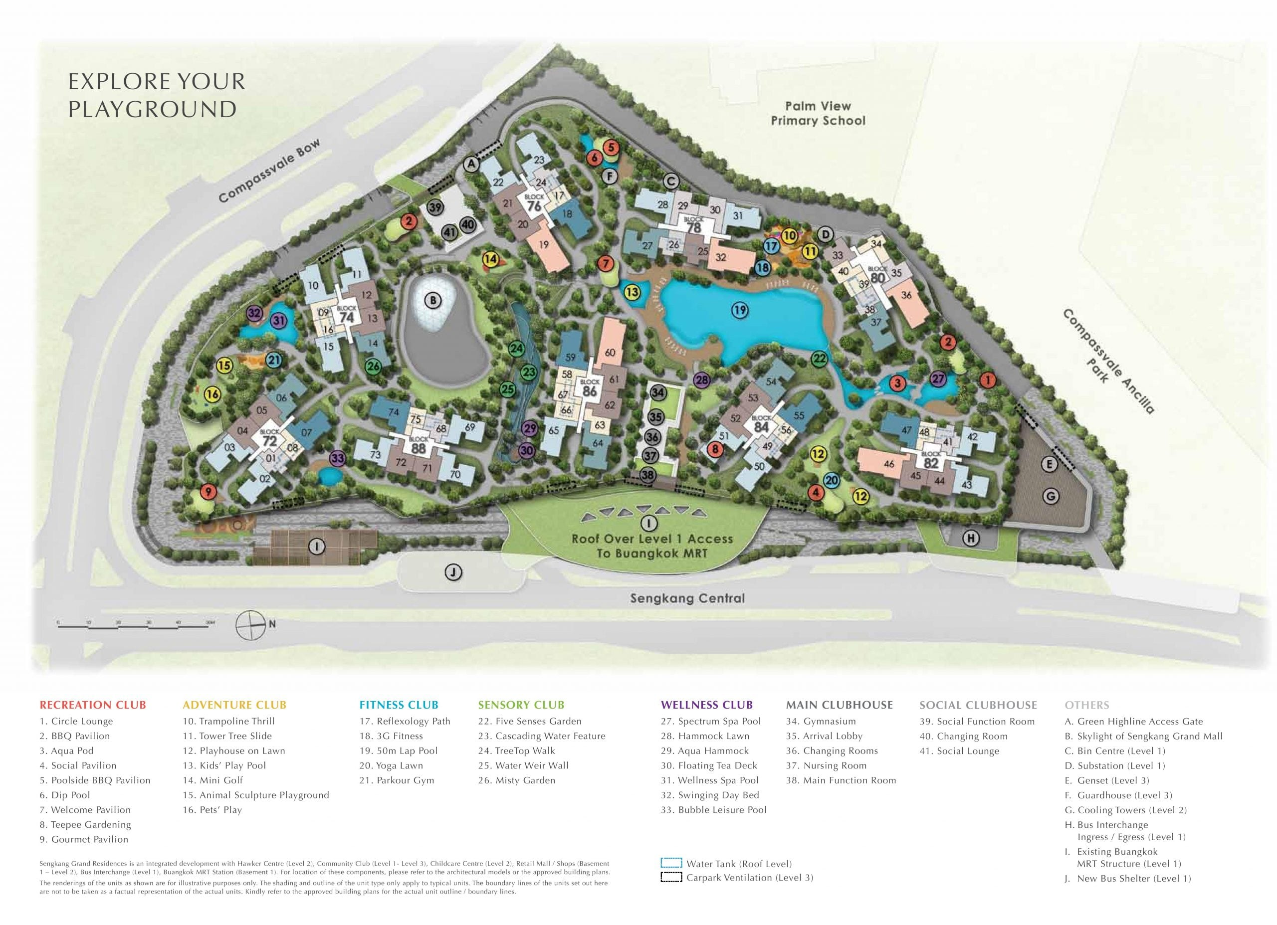 Sengkang Grand Residences sitemap