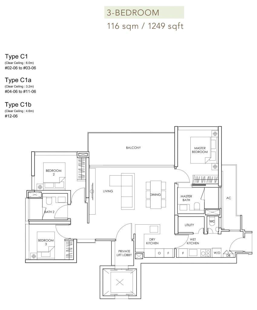 Sloane Residences floor plan